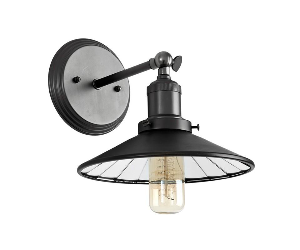 Бра HarlowУличные настенные светильники<br>Настенный светильник Harlow на металлическом основании цвета пушечной бронзы. Внутренняя часть плафона оформлена зеркальными пластинами.&amp;lt;div&amp;gt;&amp;lt;br&amp;gt;&amp;lt;/div&amp;gt;&amp;lt;div&amp;gt;&amp;lt;div&amp;gt;Цоколь: E27&amp;lt;/div&amp;gt;&amp;lt;div&amp;gt;Мощность: 40W&amp;lt;/div&amp;gt;&amp;lt;div&amp;gt;Количество ламп: 1&amp;lt;/div&amp;gt;&amp;lt;/div&amp;gt;<br><br>Material: Металл<br>Width см: 23.5<br>Depth см: 27<br>Height см: 17.5
