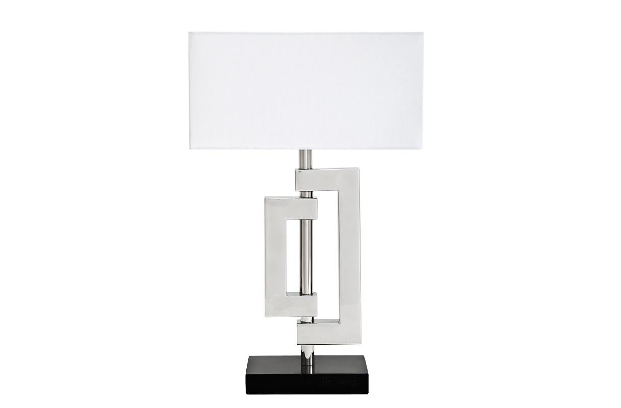Настольная лампа LerouxДекоративные лампы<br>&amp;lt;div&amp;gt;Настольная лампа Leroux.&amp;amp;nbsp;&amp;lt;/div&amp;gt;&amp;lt;div&amp;gt;Основание выполнено из мрамора черного цвета.&amp;amp;nbsp;&amp;lt;/div&amp;gt;&amp;lt;div&amp;gt;Металлическая арматура из металла цвета никель.&amp;amp;nbsp;&amp;lt;/div&amp;gt;&amp;lt;div&amp;gt;Абажур белого цвета.&amp;lt;br&amp;gt;&amp;lt;/div&amp;gt;&amp;lt;div&amp;gt;&amp;lt;br&amp;gt;&amp;lt;/div&amp;gt;&amp;lt;div&amp;gt;Вид цоколя: E27&amp;lt;/div&amp;gt;&amp;lt;div&amp;gt;Мощность: 40W&amp;lt;/div&amp;gt;&amp;lt;div&amp;gt;Количество ламп: 1&amp;lt;/div&amp;gt;<br><br>Material: Металл<br>Ширина см: 40.0<br>Высота см: 64.0<br>Глубина см: 40.0