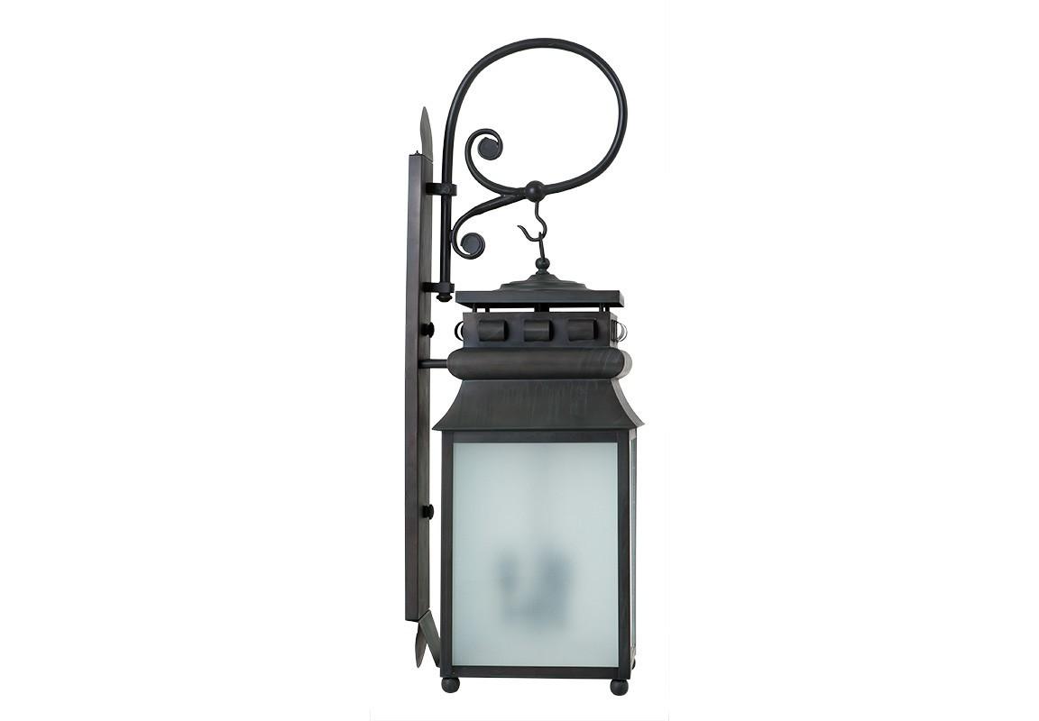 Бра JillУличные настенные светильники<br>Настенный светильник Jill с оригинальным дизайном в виде старинного фонаря. Лампы находятся за матовым белым стеклом. Цвет металла: темно-серый.&amp;lt;div&amp;gt;&amp;lt;br&amp;gt;&amp;lt;/div&amp;gt;&amp;lt;div&amp;gt;&amp;lt;div&amp;gt;Цоколь: E27&amp;lt;/div&amp;gt;&amp;lt;div&amp;gt;Мощность: 40W&amp;lt;/div&amp;gt;&amp;lt;div&amp;gt;Количество ламп: 1&amp;lt;/div&amp;gt;&amp;lt;/div&amp;gt;<br><br>Material: Металл<br>Width см: 28<br>Depth см: 33<br>Height см: 90
