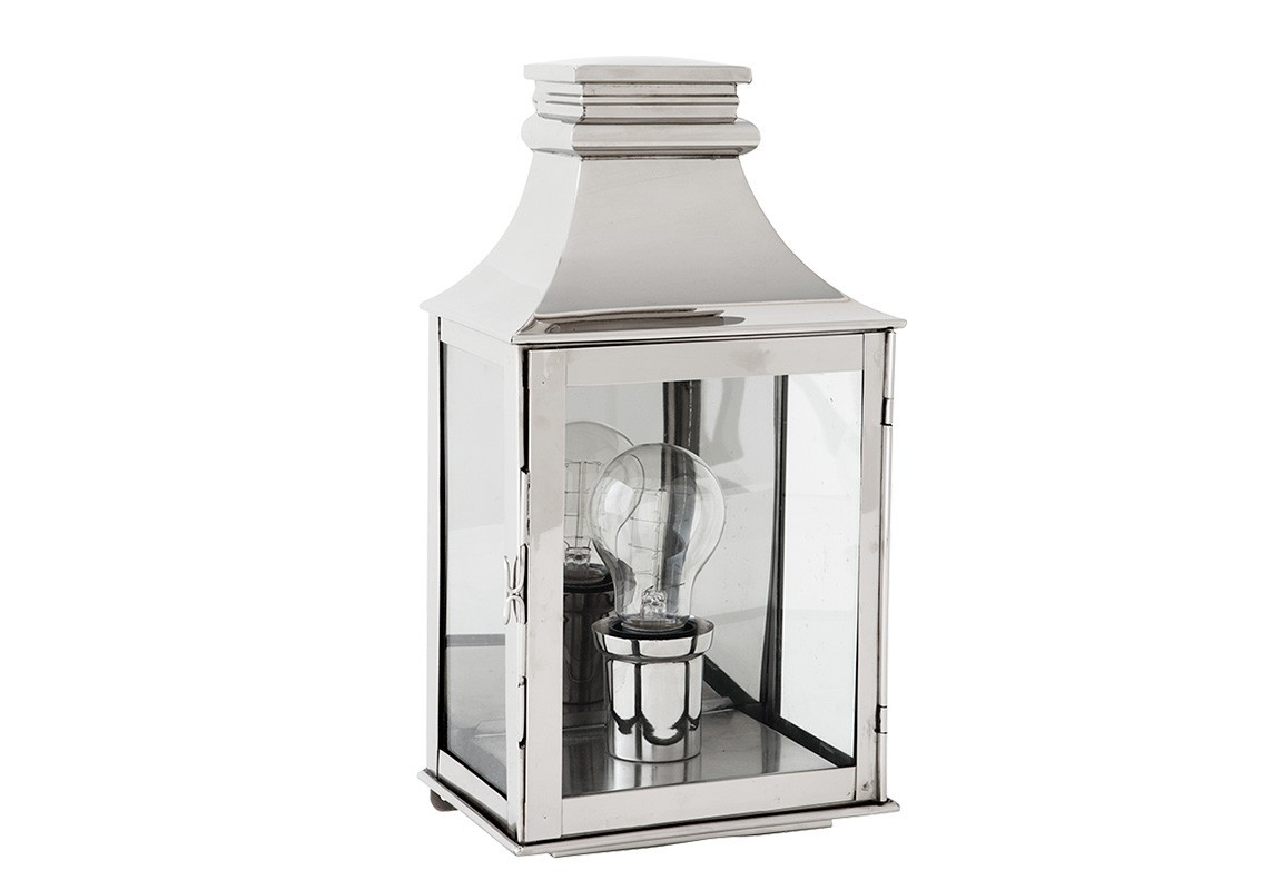Бра Primo SmallУличные настенные светильники<br>Настенный светильник Primo Small выполнен в виде фонаря со стеклянной створкой. Цвет металла: никель.&amp;lt;div&amp;gt;&amp;lt;br&amp;gt;&amp;lt;/div&amp;gt;&amp;lt;div&amp;gt;&amp;lt;div&amp;gt;Цоколь: E27&amp;lt;/div&amp;gt;&amp;lt;div&amp;gt;Мощность: 40W&amp;lt;/div&amp;gt;&amp;lt;div&amp;gt;Количество ламп: 1&amp;lt;/div&amp;gt;&amp;lt;/div&amp;gt;<br><br>Material: Металл<br>Width см: 17<br>Depth см: 13<br>Height см: 33