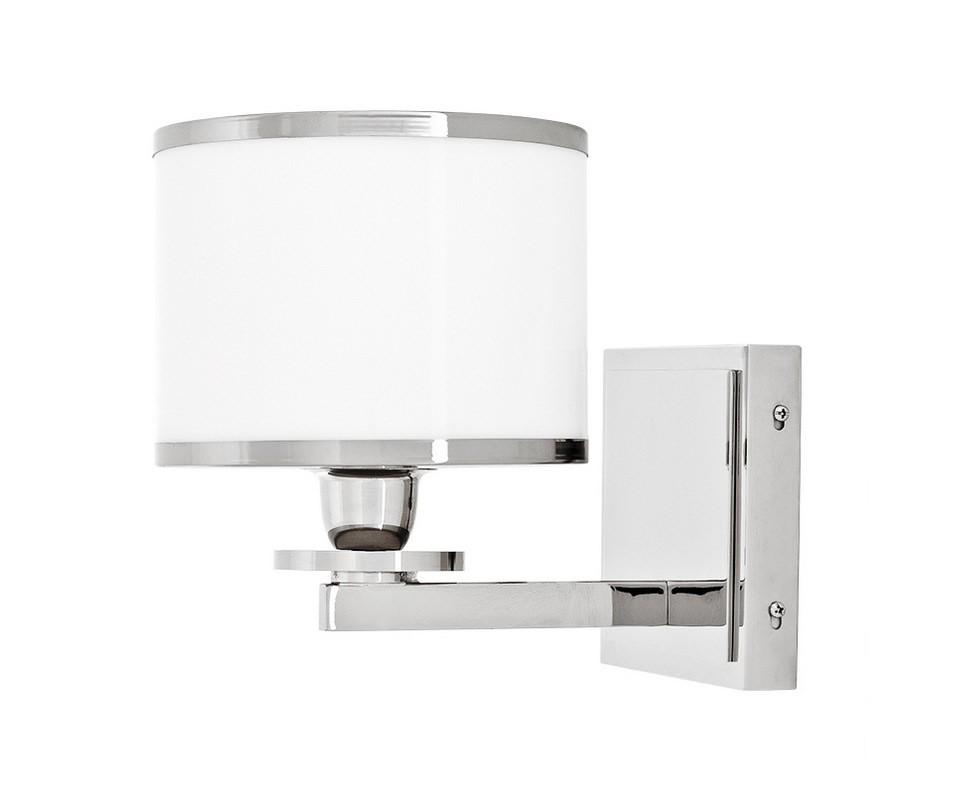 БраБра<br>Настенный светильник Lamp Wall Van Cleeff с пластиковым плафоном цилиндрической формы в металлической никелированной рамке.&amp;amp;nbsp;&amp;amp;nbsp;Основание светильника выполнено из металла цвета никель. Цвет плафона - матовый белый.&amp;lt;div&amp;gt;&amp;lt;br&amp;gt;&amp;lt;/div&amp;gt;&amp;lt;div&amp;gt;&amp;lt;div&amp;gt;Цоколь: E14&amp;lt;/div&amp;gt;&amp;lt;div&amp;gt;Мощность: 40W&amp;lt;/div&amp;gt;&amp;lt;div&amp;gt;Количество ламп: 1&amp;lt;/div&amp;gt;&amp;lt;/div&amp;gt;<br><br>Material: Металл<br>Width см: 18<br>Depth см: 25<br>Height см: 23