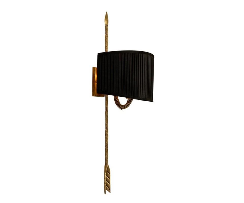 БраБра<br>Бра однорожковое Wall lamp Fontaine на металлическогй арматуре цвета античная латунь. В комплекте текстильный абажур черного цвета.&amp;lt;div&amp;gt;&amp;lt;br&amp;gt;&amp;lt;/div&amp;gt;&amp;lt;div&amp;gt;&amp;lt;div&amp;gt;Цоколь: E14&amp;lt;/div&amp;gt;&amp;lt;div&amp;gt;Мощность: 40W&amp;lt;/div&amp;gt;&amp;lt;div&amp;gt;Количество ламп: 1&amp;lt;/div&amp;gt;&amp;lt;/div&amp;gt;<br><br>Material: Текстиль<br>Width см: 34.5<br>Depth см: 23<br>Height см: 72