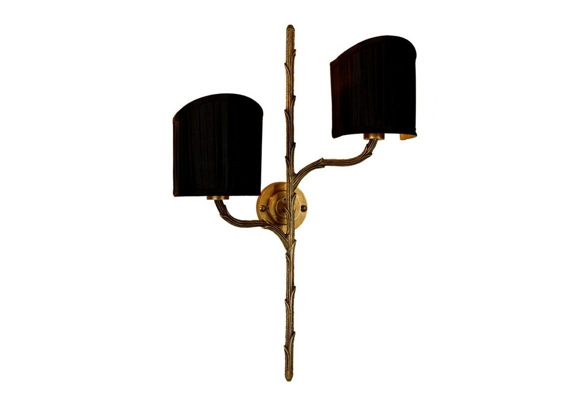 БраБра<br>Бра 2-х рожковое Wall lamp Leonard на металлическогй арматуре цвета античная латунь. В комплекте текстильные абажуры черного цвета.&amp;lt;div&amp;gt;&amp;lt;br&amp;gt;&amp;lt;/div&amp;gt;&amp;lt;div&amp;gt;&amp;lt;div&amp;gt;Цоколь: E14&amp;lt;/div&amp;gt;&amp;lt;div&amp;gt;Мощность: 40W&amp;lt;/div&amp;gt;&amp;lt;div&amp;gt;Количество ламп: 2&amp;lt;/div&amp;gt;&amp;lt;/div&amp;gt;<br><br>Material: Текстиль<br>Width см: 36<br>Depth см: 15<br>Height см: 53