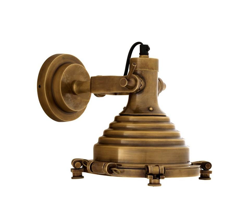 БраБра<br>Настенный светильник из коллекции Maritime выпонен из состаренной латуни. Плафон можно вращать, регулируя световой поток.&amp;lt;div&amp;gt;&amp;lt;br&amp;gt;&amp;lt;/div&amp;gt;&amp;lt;div&amp;gt;&amp;lt;div&amp;gt;Цоколь: E14&amp;lt;/div&amp;gt;&amp;lt;div&amp;gt;Мощность: 40W&amp;lt;/div&amp;gt;&amp;lt;div&amp;gt;Количество ламп: 1&amp;lt;/div&amp;gt;&amp;lt;/div&amp;gt;<br><br>Material: Металл<br>Width см: 20<br>Depth см: 29<br>Height см: 21.5