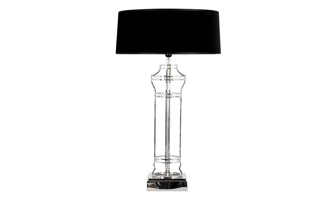Настольная лампа Neo ClassicaДекоративные лампы<br>Lamp Newport Neo Classical.&amp;amp;nbsp;&amp;lt;div&amp;gt;Основнание лампы из металла.&amp;amp;nbsp;&amp;lt;/div&amp;gt;&amp;lt;div&amp;gt;Цвет - никель.&amp;amp;nbsp;&amp;lt;/div&amp;gt;&amp;lt;div&amp;gt;Абажур черный.&amp;lt;/div&amp;gt;&amp;lt;div&amp;gt;&amp;lt;br&amp;gt;&amp;lt;/div&amp;gt;&amp;lt;div&amp;gt;&amp;lt;div&amp;gt;Вид цоколя: E27&amp;lt;br&amp;gt;&amp;lt;/div&amp;gt;&amp;lt;div&amp;gt;Мощность: 40W&amp;lt;/div&amp;gt;&amp;lt;div&amp;gt;Количество ламп: 1&amp;lt;/div&amp;gt;&amp;lt;/div&amp;gt;<br><br>Material: Металл<br>Height см: 87<br>Diameter см: 50