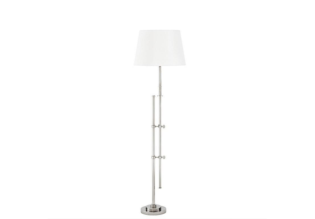 Торшер MedeaТоршеры<br>Напольный светильник Lamp Floor Gordini с каркасом из никелированного металла. Каркас (ось) абажура&amp;amp;nbsp;&amp;amp;nbsp;поднимается и опускается на нужную вам высоту при помощи декоративных креплений.&amp;amp;nbsp;&amp;amp;nbsp;Дизайн выполнен в современном стиле.&amp;amp;nbsp;&amp;amp;nbsp;Абажур - из белой ткани.&amp;lt;div&amp;gt;&amp;lt;br&amp;gt;&amp;lt;/div&amp;gt;&amp;lt;div&amp;gt;&amp;lt;div&amp;gt;Цоколь: E27&amp;lt;/div&amp;gt;&amp;lt;div&amp;gt;Мощность: 40W&amp;lt;/div&amp;gt;&amp;lt;div&amp;gt;Количество ламп: 1&amp;lt;/div&amp;gt;&amp;lt;/div&amp;gt;<br><br>Material: Металл<br>Height см: 187<br>Diameter см: 45