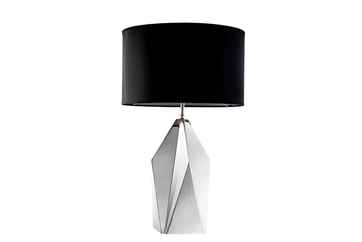 Настольная лампа SetaiДекоративные лампы<br>Настольная лампа Table Lamp Setai на никелированном основании. Текстильный абажур черного цвета скрывает лампу.&amp;lt;div&amp;gt;&amp;lt;br&amp;gt;&amp;lt;/div&amp;gt;&amp;lt;div&amp;gt;Вид цоколя: Е27&amp;lt;br&amp;gt;&amp;lt;/div&amp;gt;&amp;lt;div&amp;gt;Мощность: 40W&amp;lt;/div&amp;gt;&amp;lt;div&amp;gt;Количество ламп: 1&amp;lt;/div&amp;gt;&amp;lt;div&amp;gt;&amp;lt;br&amp;gt;&amp;lt;/div&amp;gt;<br><br>Material: Металл<br>Height см: 72<br>Diameter см: 43