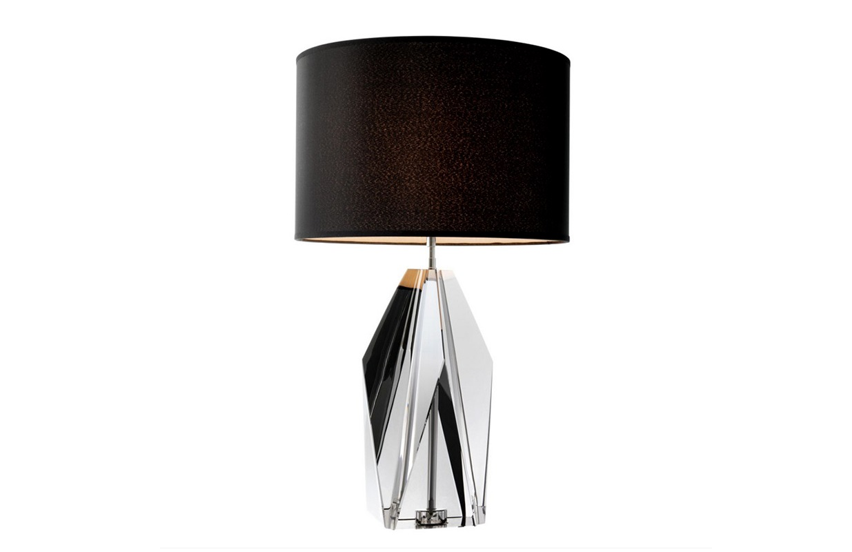 Настольная лампа SetaiДекоративные лампы<br>Настольная лампа Table Lamp Setai на основании из стекла дымчатого цвета. Текстильный абажур черного цвета скрывает лампу.&amp;lt;div&amp;gt;&amp;lt;br&amp;gt;&amp;lt;/div&amp;gt;&amp;lt;div&amp;gt;Вид цоколя: Е27&amp;lt;/div&amp;gt;&amp;lt;div&amp;gt;Мощность: 60W&amp;lt;/div&amp;gt;&amp;lt;div&amp;gt;Количество ламп: 1&amp;lt;/div&amp;gt;&amp;lt;div&amp;gt;&amp;lt;br&amp;gt;&amp;lt;/div&amp;gt;<br><br>Material: Металл<br>Height см: 71,5<br>Diameter см: 43