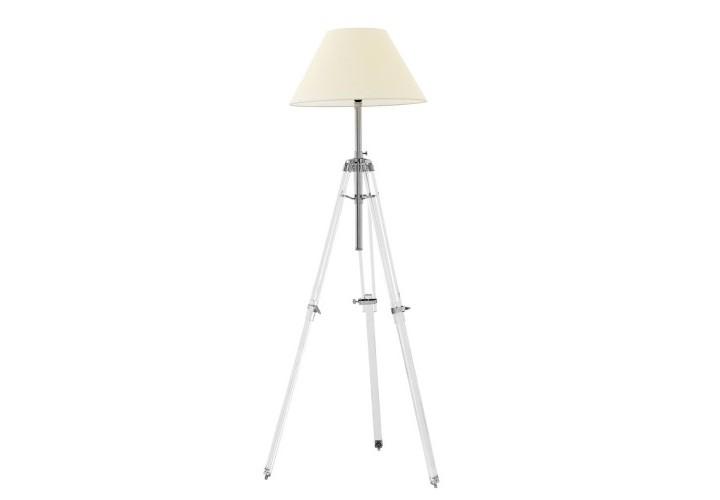 Торшер TelescopeТоршеры<br>Торшер Floor Lamp Telescope на никелированных ножках, высота которых регулируется от 117 до 217 см и ширина от 46 до 77 см. Текстильный абажур бежевого цвета скрывает лампу.&amp;lt;div&amp;gt;&amp;lt;br&amp;gt;&amp;lt;/div&amp;gt;&amp;lt;div&amp;gt;&amp;lt;div&amp;gt;Цоколь: E27&amp;lt;/div&amp;gt;&amp;lt;div&amp;gt;Мощность: 60W&amp;lt;/div&amp;gt;&amp;lt;div&amp;gt;Количество ламп: 1&amp;lt;/div&amp;gt;&amp;lt;/div&amp;gt;<br><br>Material: Металл<br>Высота см: 217