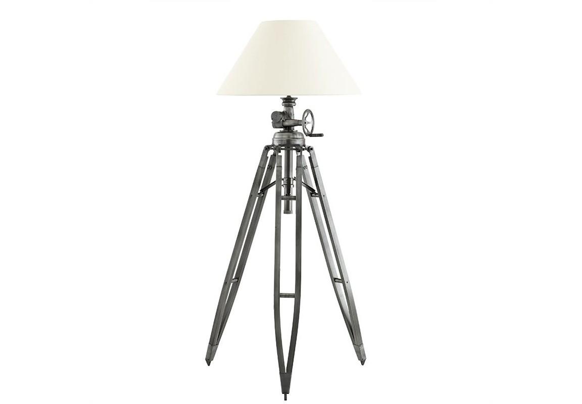 Торшер Royal MarineТоршеры<br>Торшер Floor Lamp Royal Marine на основании из металла серо-бронзового цвета. Текстильный абажур бежевого цвета скрывает лампу.&amp;lt;div&amp;gt;&amp;lt;br&amp;gt;&amp;lt;/div&amp;gt;&amp;lt;div&amp;gt;&amp;lt;div&amp;gt;Цоколь: E27&amp;lt;/div&amp;gt;&amp;lt;div&amp;gt;Мощность: 60W&amp;lt;/div&amp;gt;&amp;lt;div&amp;gt;Количество ламп: 1&amp;lt;/div&amp;gt;&amp;lt;/div&amp;gt;<br><br>Material: Металл<br>Высота см: 226