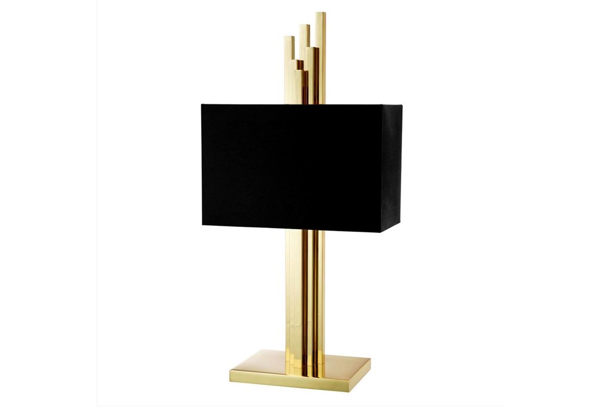 Настольная лампа CarusoДекоративные лампы<br>&amp;lt;div&amp;gt;Настольная лампа Table Lamp Caruso на основании из металла цвета полированная латунь. Текстильный абажур черного цвета скрывает лампу.&amp;lt;div&amp;gt;&amp;lt;br&amp;gt;&amp;lt;/div&amp;gt;&amp;lt;div&amp;gt;Вид цоколя: Е27&amp;lt;br&amp;gt;&amp;lt;/div&amp;gt;&amp;lt;div&amp;gt;Мощность: 40W&amp;lt;/div&amp;gt;&amp;lt;div&amp;gt;Количество ламп: 2&amp;lt;/div&amp;gt;&amp;lt;/div&amp;gt;<br><br>Material: Металл<br>Width см: 35<br>Depth см: 27<br>Height см: 81