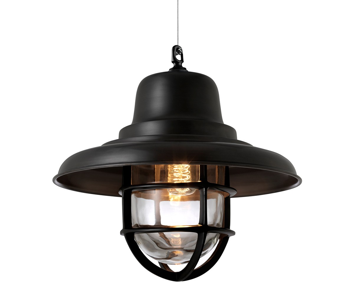 Подвесной светильникПодвесные светильники<br>Подвесной светильник-лантерна из коллекции Lantern Redcliffe L на арматуре из металла черно-коричневого цвета. Плафон выполнен из прозрачного стекла. Высота светильника регулируется за счет звеньев цепи.&amp;lt;div&amp;gt;&amp;lt;br&amp;gt;&amp;lt;/div&amp;gt;&amp;lt;div&amp;gt;&amp;lt;div&amp;gt;Цоколь: E27&amp;lt;/div&amp;gt;&amp;lt;div&amp;gt;Мощность: 40W&amp;lt;/div&amp;gt;&amp;lt;div&amp;gt;Количество ламп: 1&amp;lt;/div&amp;gt;&amp;lt;/div&amp;gt;<br><br>Material: Металл<br>Высота см: 35