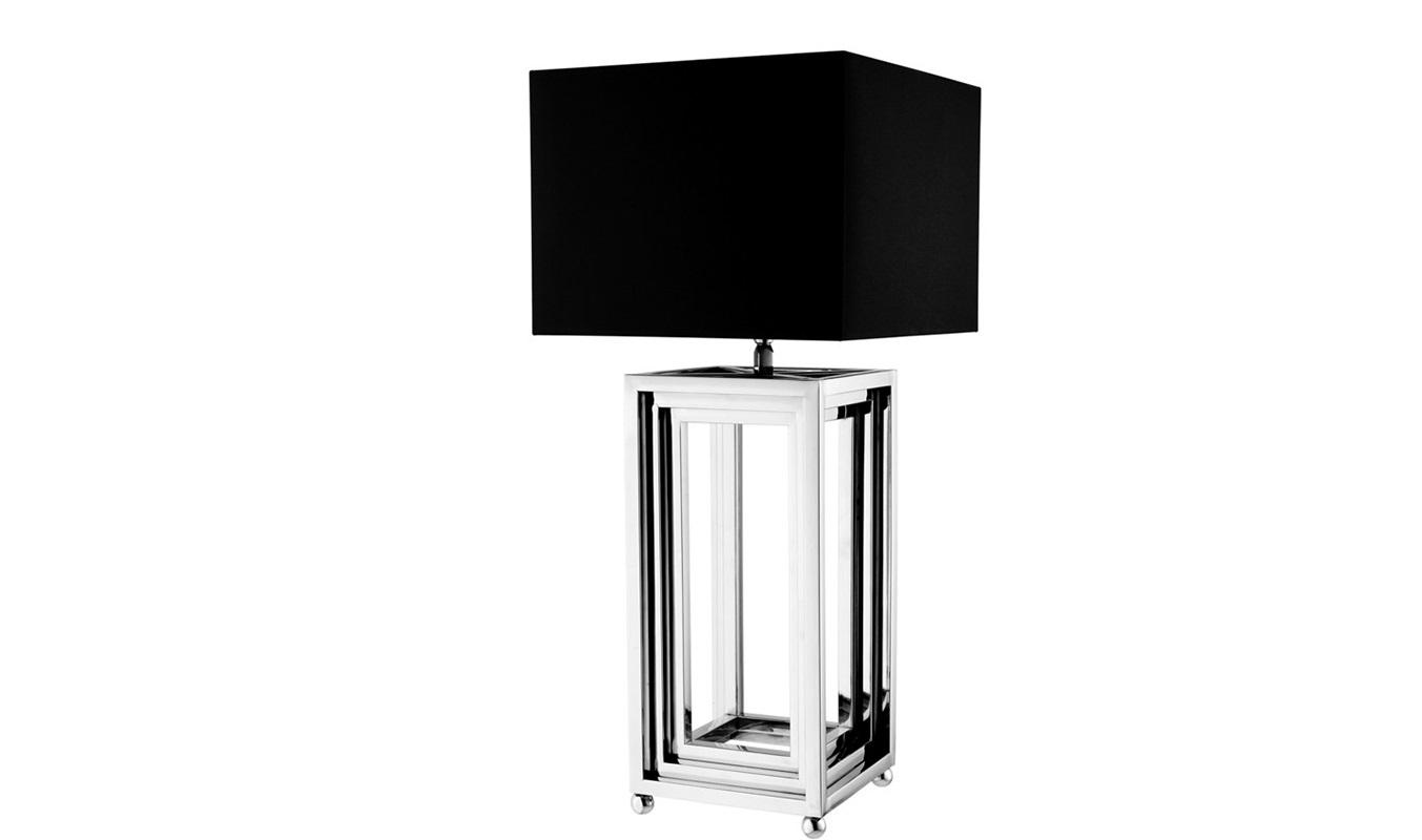 Настольная лампа MenaggioДекоративные лампы<br>Настольная лампа Table Lamp Menaggio на никелированном основании.&amp;amp;nbsp;&amp;lt;div&amp;gt;Текстильный абажур черного цвета скрывает лампу.&amp;lt;/div&amp;gt;&amp;lt;div&amp;gt;&amp;lt;br&amp;gt;&amp;lt;/div&amp;gt;&amp;lt;div&amp;gt;Вид цоколя: Е27&amp;lt;/div&amp;gt;&amp;lt;div&amp;gt;Мощность: 40W&amp;lt;/div&amp;gt;&amp;lt;div&amp;gt;Количество ламп: 1&amp;lt;/div&amp;gt;&amp;lt;div&amp;gt;&amp;lt;br&amp;gt;&amp;lt;/div&amp;gt;<br><br>Material: Металл<br>Width см: 40<br>Depth см: 40<br>Height см: 95