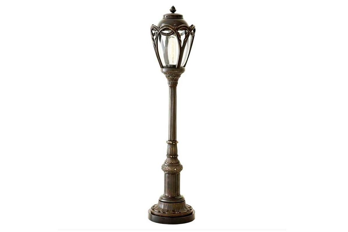 Настольная лампа  Central ParkДекоративные лампы<br>Настольная лампа Table lamp Central Park на металлическом основании цвета античная латунь. Дизайн выполнен в виде фонаря.&amp;amp;nbsp;&amp;lt;div&amp;gt;Створки плафона выполнены из прозрачного стекла.&amp;lt;/div&amp;gt;&amp;lt;div&amp;gt;&amp;lt;br&amp;gt;&amp;lt;/div&amp;gt;&amp;lt;div&amp;gt;Вид цоколя: Е27&amp;lt;/div&amp;gt;&amp;lt;div&amp;gt;Мощность: 40W&amp;lt;/div&amp;gt;&amp;lt;div&amp;gt;Количество ламп: 1&amp;lt;/div&amp;gt;&amp;lt;div&amp;gt;&amp;lt;br&amp;gt;&amp;lt;/div&amp;gt;<br><br>Material: Металл<br>Height см: 85<br>Diameter см: 19