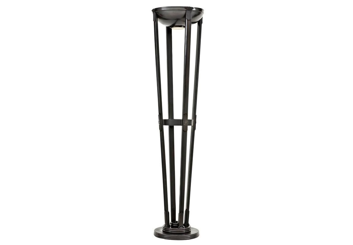 Торшер DemoiselleТоршеры<br>Торшер Floor Lamp Demoiselle выполнен из металла черно-бронзового цвета. В плафон встроен диск из прозрачного стекла. Лампочки в комплект не входят.&amp;lt;div&amp;gt;&amp;lt;br&amp;gt;&amp;lt;div&amp;gt;&amp;lt;div&amp;gt;Цоколь: E27&amp;lt;/div&amp;gt;&amp;lt;div&amp;gt;Мощность: 60W&amp;lt;/div&amp;gt;&amp;lt;div&amp;gt;Количество ламп: 1&amp;lt;/div&amp;gt;&amp;lt;/div&amp;gt;&amp;lt;/div&amp;gt;<br><br>Material: Металл<br>Height см: 201.5<br>Diameter см: 46