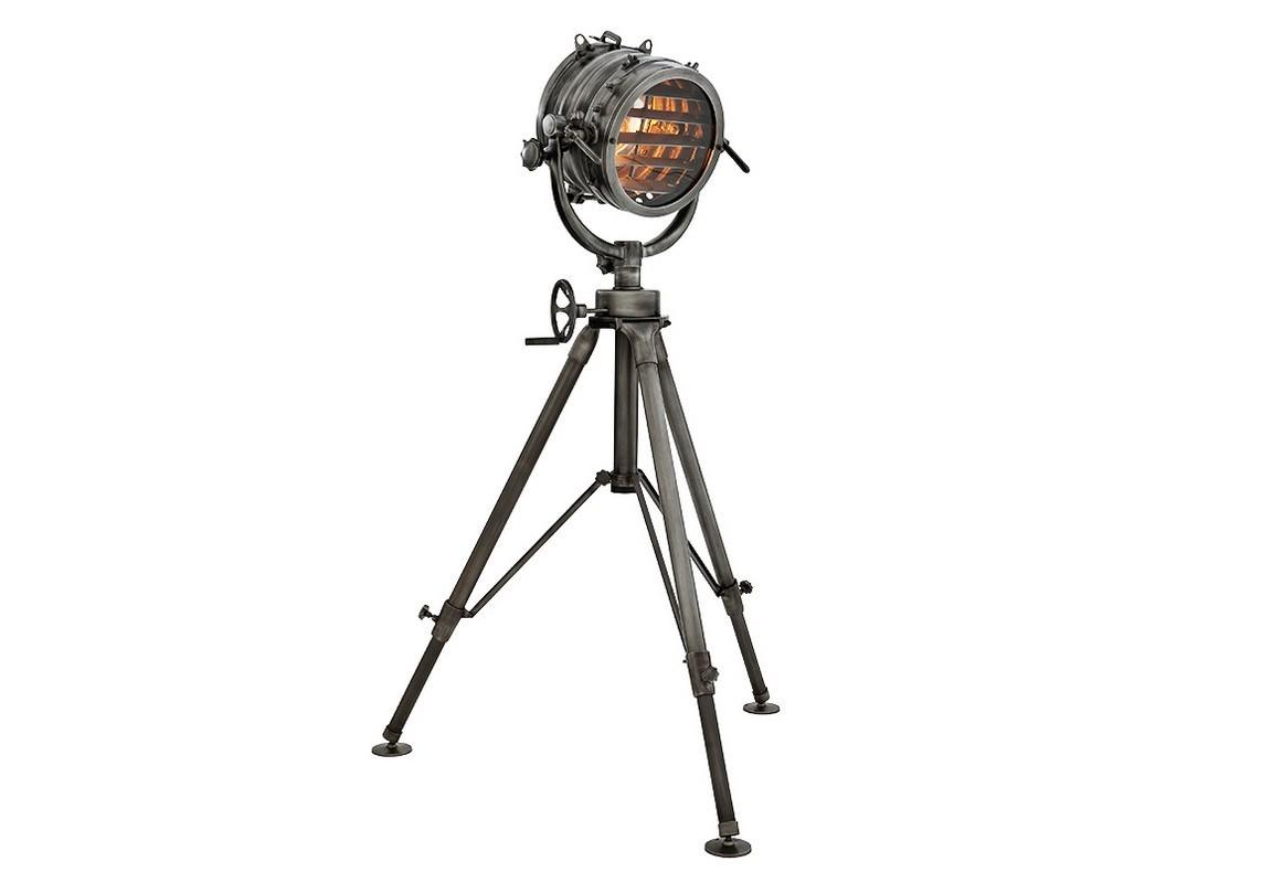 Торшер Royal MasterТоршеры<br>Напольный светильник Lamp Royal Master Sealight изготовлен из алюминия в цвете gunmetal (пушечная бронза) на треноге в виде морского прожектора. Плафон имеет &amp;quot;жалюзи&amp;quot;, регулирующие направление света. Тренога разбирается и легко складывается. При помощи декоративных крепежей «прожектор» закреплен на U-образном каркасе. Его можно смещать вверх, вниз и закреплять в необходимом положении. Высоту можно регулировать при помощи опор и оси.&amp;lt;div&amp;gt;&amp;lt;br&amp;gt;&amp;lt;/div&amp;gt;&amp;lt;div&amp;gt;&amp;lt;div&amp;gt;Цоколь: E27&amp;lt;/div&amp;gt;&amp;lt;div&amp;gt;Мощность: 60W&amp;lt;/div&amp;gt;&amp;lt;div&amp;gt;Количество ламп: 1&amp;lt;/div&amp;gt;&amp;lt;/div&amp;gt;<br><br>Material: Металл<br>Height см: 220<br>Diameter см: 47