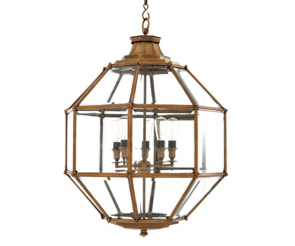 Подвесная люстра Owen LЛюстры подвесные<br>Подвесная люстра из коллекции Owen L на металлической арматуре цвета состаренная латунь. Плафон выполнен из прозрачного стекла. Высота светильника регулируется за счет звеньев цепи.&amp;amp;nbsp;&amp;lt;div&amp;gt;&amp;lt;br&amp;gt;&amp;lt;/div&amp;gt;&amp;lt;div&amp;gt;&amp;lt;div&amp;gt;Цоколь: E27&amp;lt;/div&amp;gt;&amp;lt;div&amp;gt;Мощность: 40W&amp;lt;/div&amp;gt;&amp;lt;div&amp;gt;Количество ламп: 5&amp;lt;/div&amp;gt;&amp;lt;/div&amp;gt;<br><br>Material: Металл<br>Ширина см: 80.0<br>Высота см: 98.0<br>Глубина см: 80.0