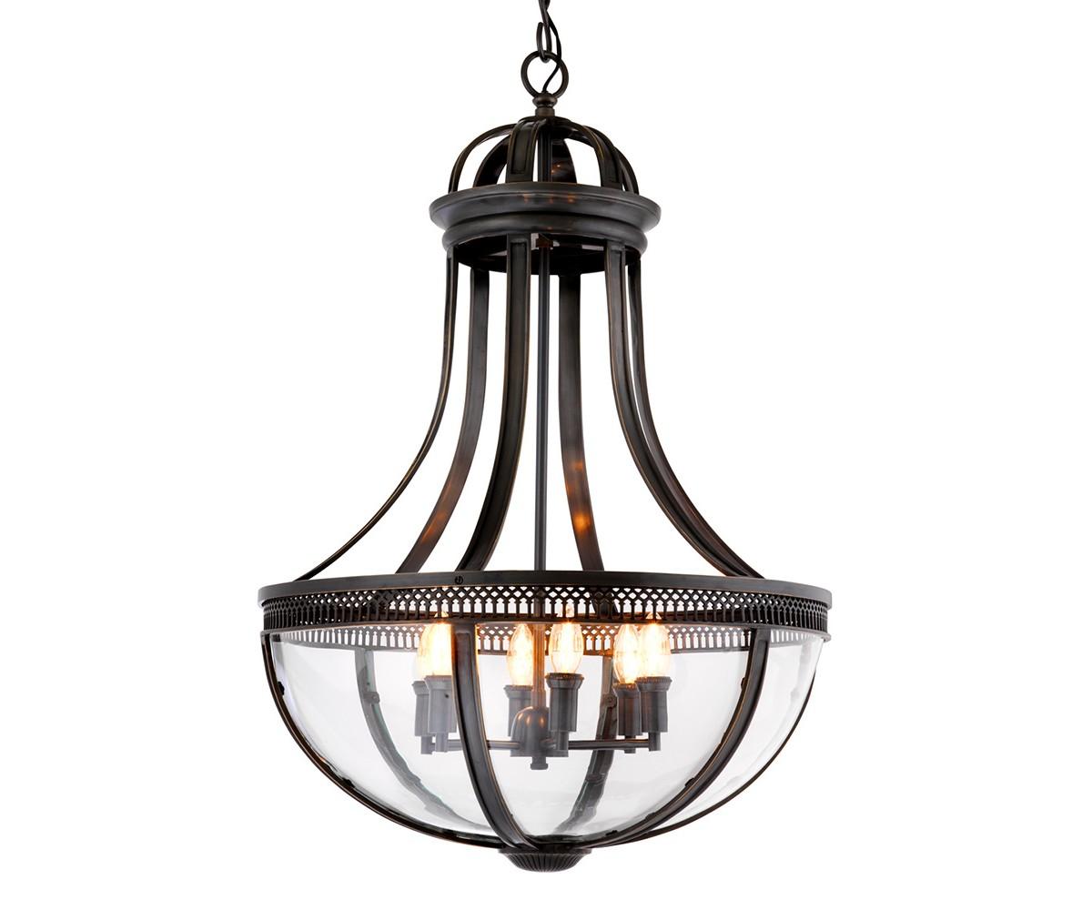 Подвесная люстра Capitol Hill LЛюстры подвесные<br>Подвесная люстра Lantern Capitol Hill L с оригинальным дизайном выполнен из металла цвета темная бронза. Нижняя часть плафона из прозрачного стекла. Высота светильника регулируется за счет звеньев цепи.&amp;amp;nbsp;&amp;lt;div&amp;gt;&amp;lt;br&amp;gt;&amp;lt;/div&amp;gt;&amp;lt;div&amp;gt;&amp;lt;div&amp;gt;Цоколь: E14&amp;lt;/div&amp;gt;&amp;lt;div&amp;gt;Мощность: 40W&amp;lt;/div&amp;gt;&amp;lt;div&amp;gt;Количество ламп: 6&amp;lt;/div&amp;gt;&amp;lt;/div&amp;gt;<br><br>Material: Металл<br>Height см: 84<br>Diameter см: 61