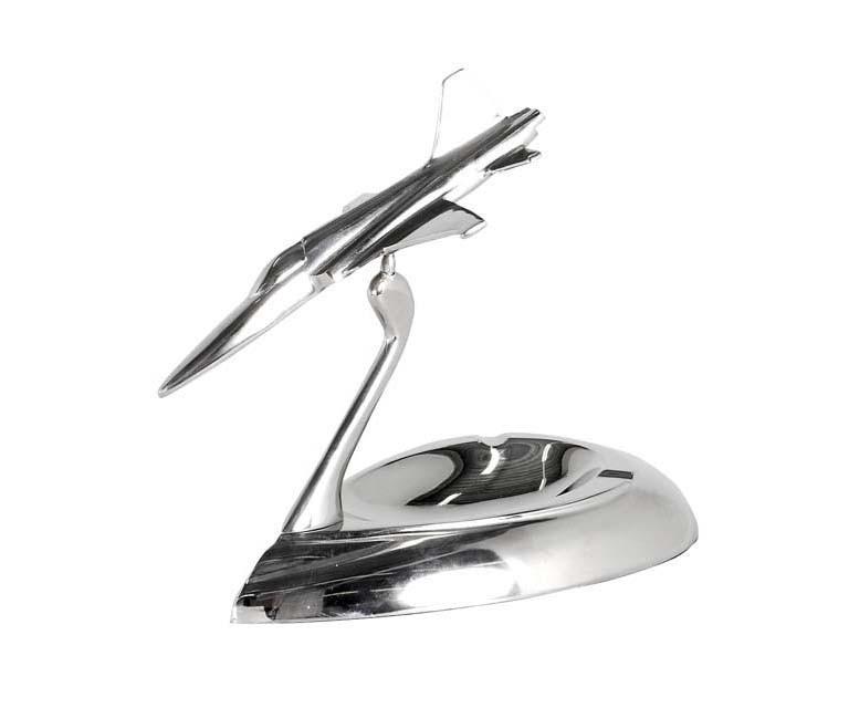 ПепельницаДругое<br>Ashtray Hunter - пепельница, модель самолета. Цвет металла - алюминий.<br><br>Material: Металл<br>Width см: 24<br>Depth см: 12<br>Height см: 20