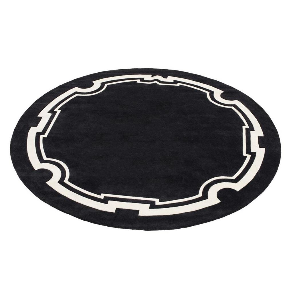 КоверКруглые ковры<br>Ковер Carpet Palazzo выполнен из 100% новозелландской шерсти. Ручная работа.<br><br>Material: Текстиль<br>Diameter см: 280