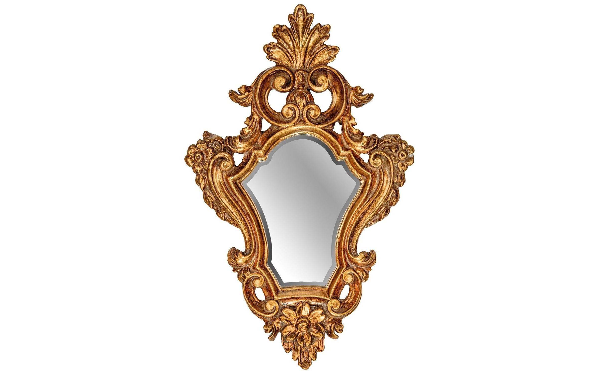 Зеркало Viola GoldНастенные зеркала<br><br><br>Material: Полирезин<br>Width см: 27.5<br>Depth см: 4<br>Height см: 48.5