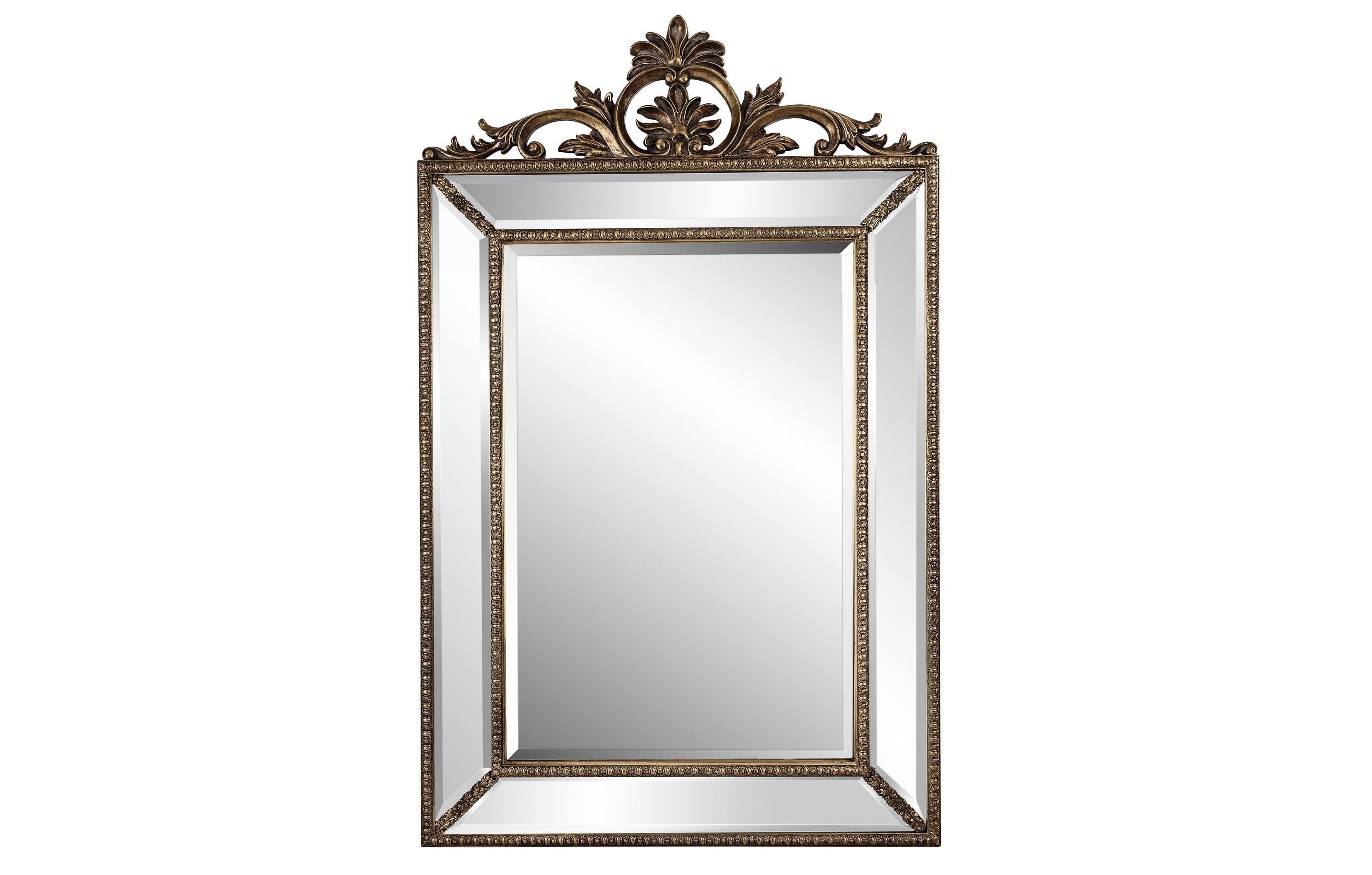Зеркало Ambren SilverНастенные зеркала<br><br><br>Material: Полирезин<br>Width см: 90<br>Depth см: 4<br>Height см: 144