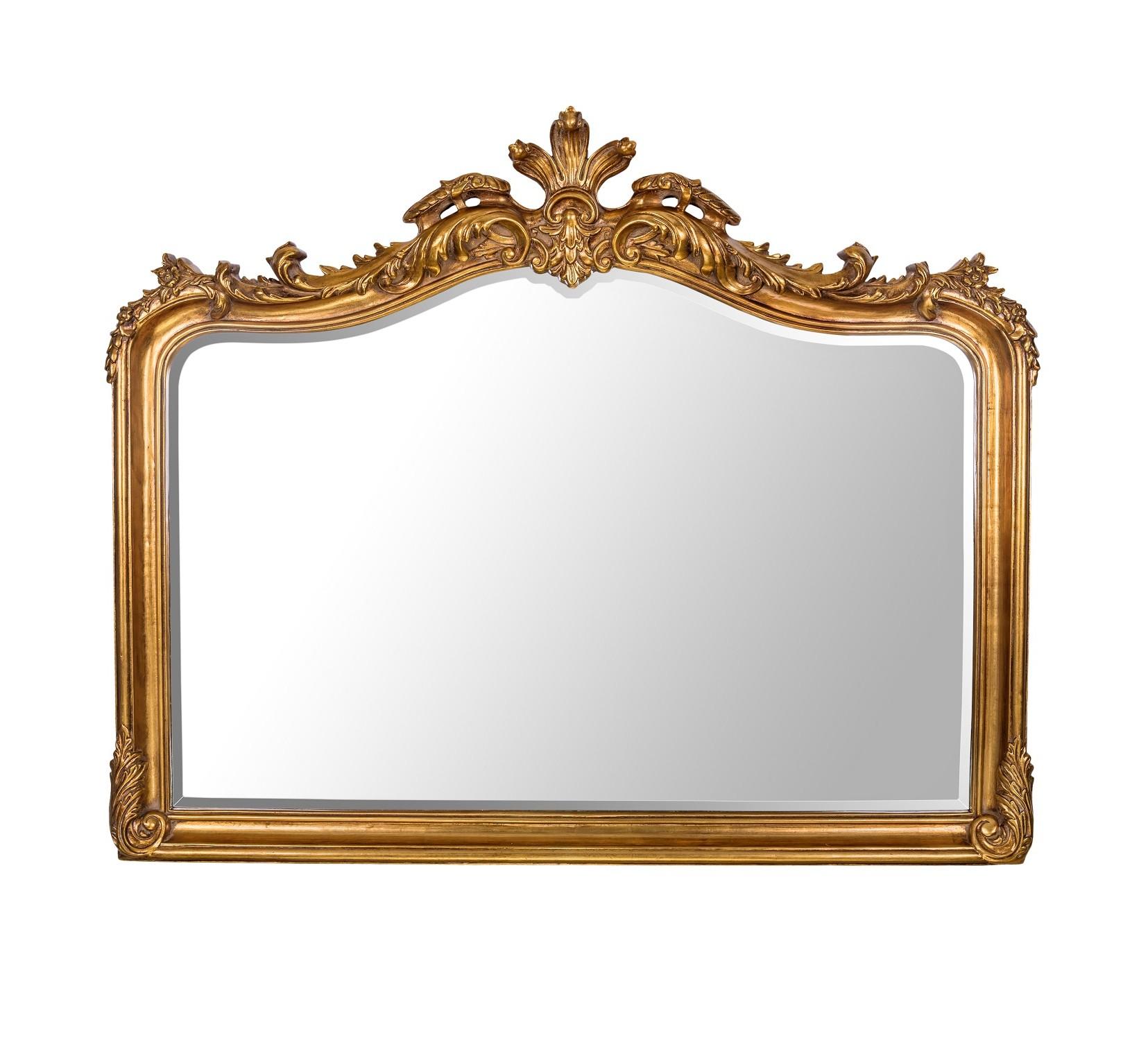 Зеркало Solerno GoldНастенные зеркала<br><br><br>Material: Полирезин<br>Width см: 126<br>Depth см: 11<br>Height см: 101