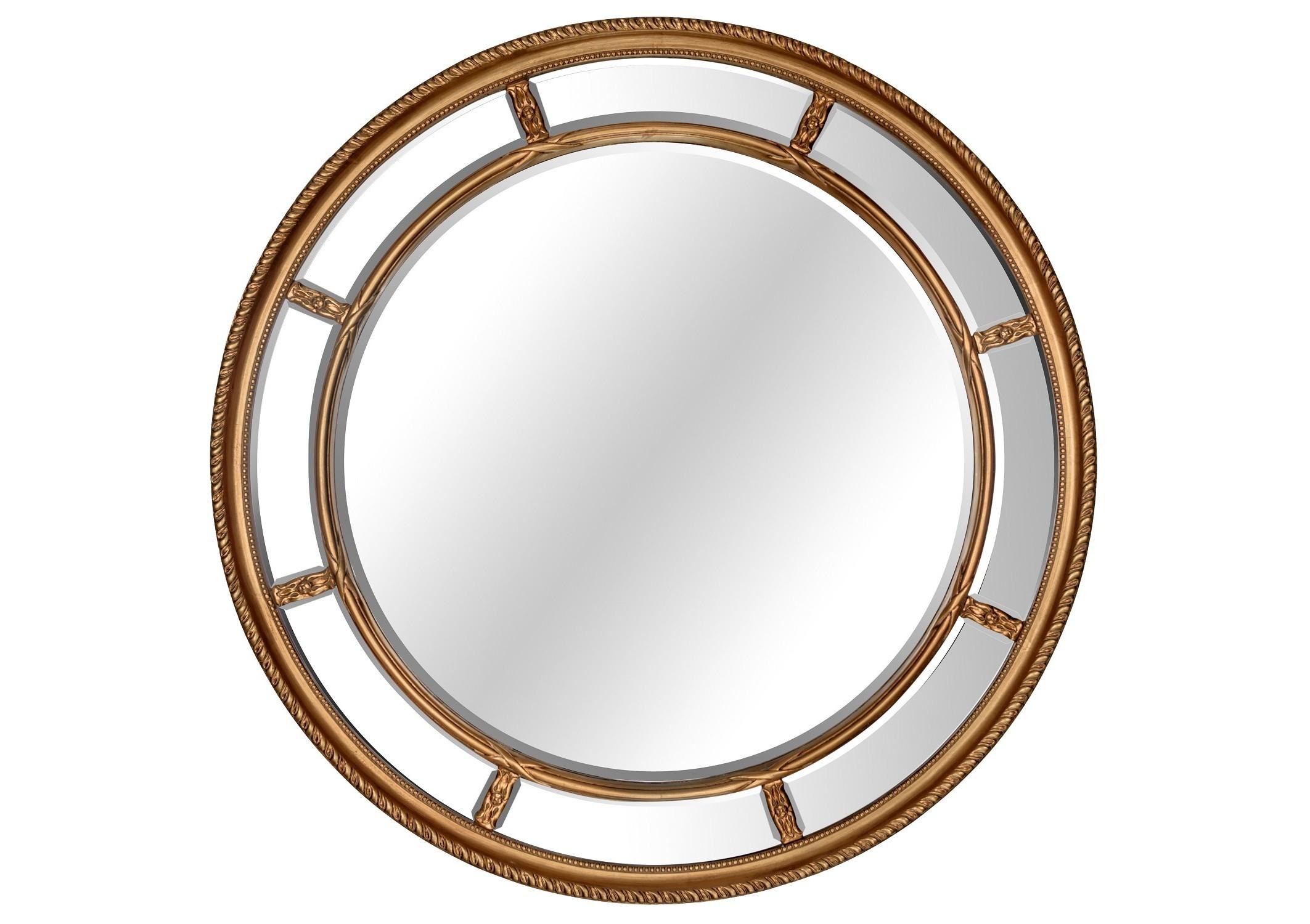 Зеркало Prestige GoldНастенные зеркала<br><br><br>Material: Полирезин<br>Depth см: 4<br>Diameter см: 115.5
