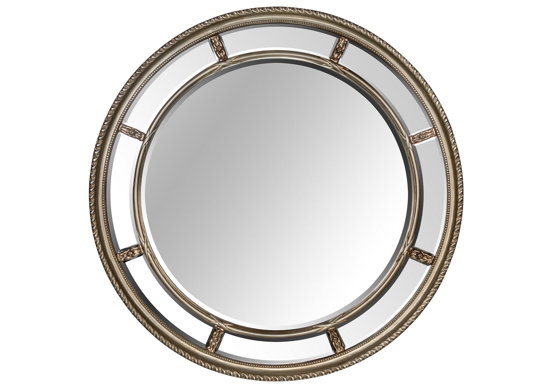 Зеркало Prestige SilverНастенные зеркала<br><br><br>Material: Полирезин<br>Depth см: 4<br>Diameter см: 115.5