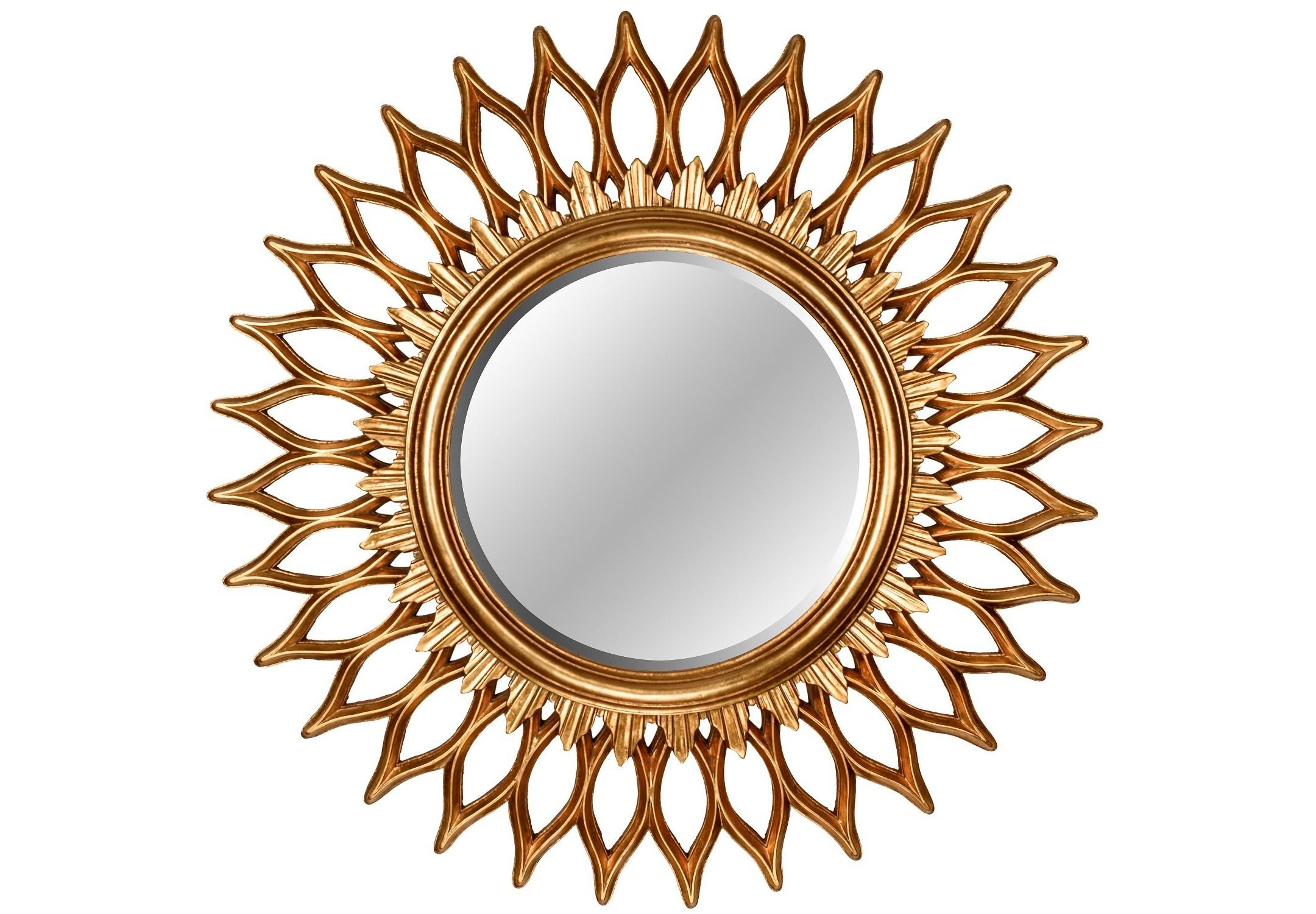 Зеркало GoldStarНастенные зеркала<br><br><br>Material: Полирезин<br>Depth см: 4<br>Diameter см: 90