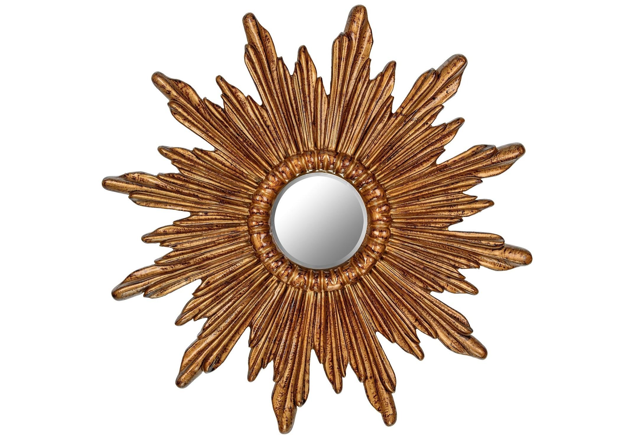 Зеркало Ray BronzeНастенные зеркала<br><br><br>Material: Полиуретан<br>Depth см: 4<br>Diameter см: 74.5