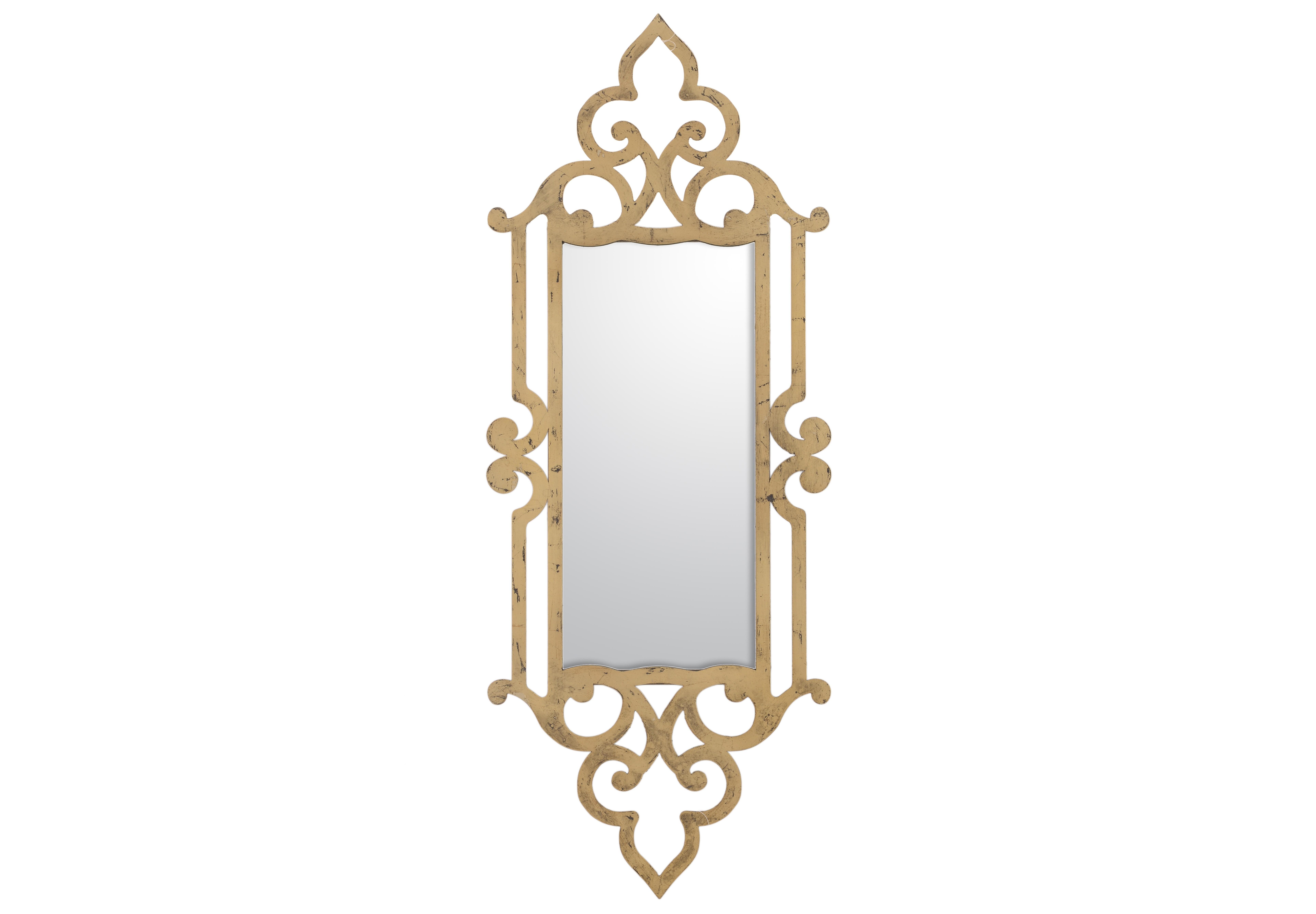 Зеркало настенное VoltarНастенные зеркала<br><br><br>Material: Металл<br>Ширина см: 36<br>Высота см: 90<br>Глубина см: 2