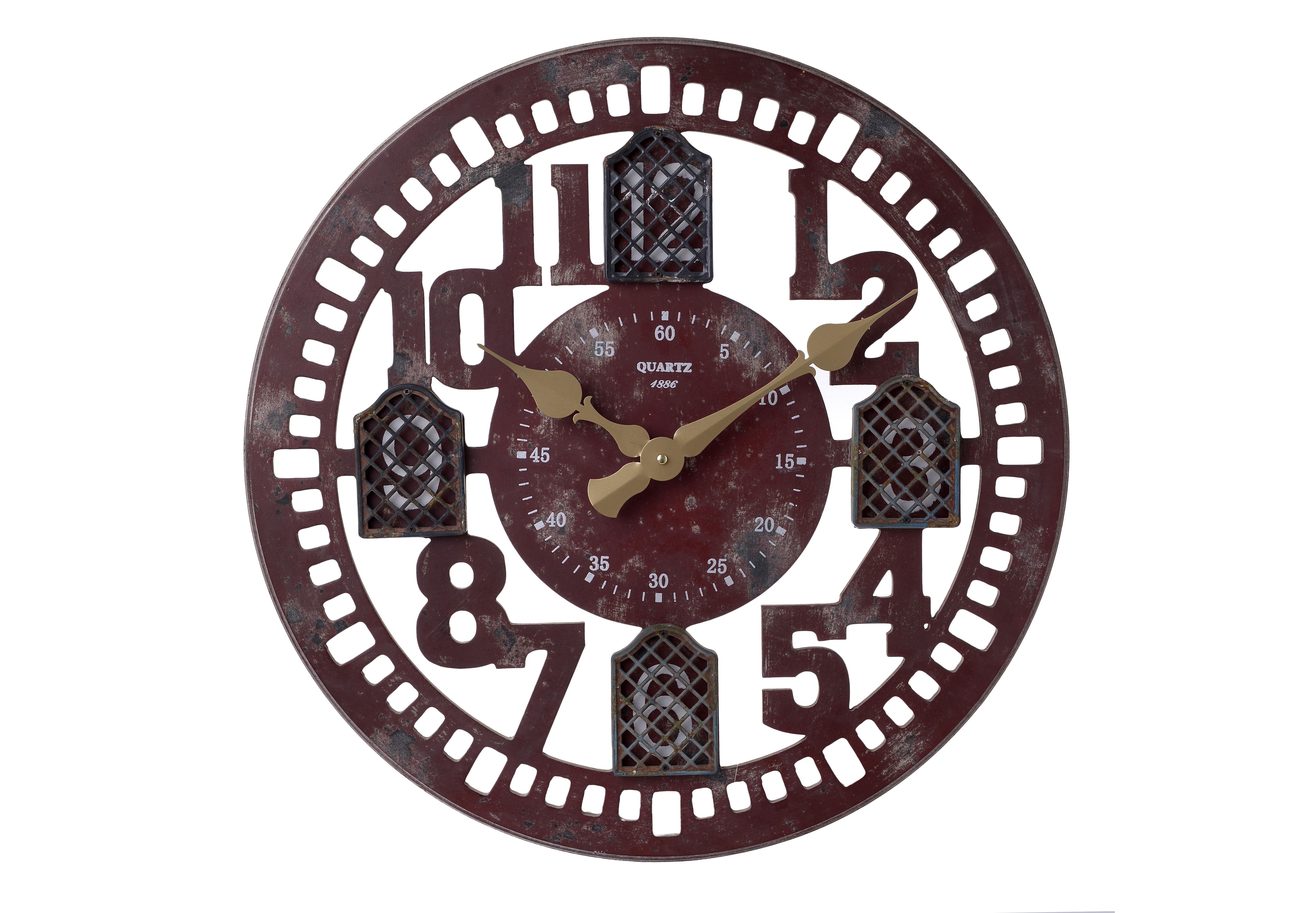 Часы настенные BregerНастенные часы<br>кварцевый механизм<br><br>Material: Дерево<br>Width см: None<br>Depth см: 4<br>Height см: None<br>Diameter см: 60