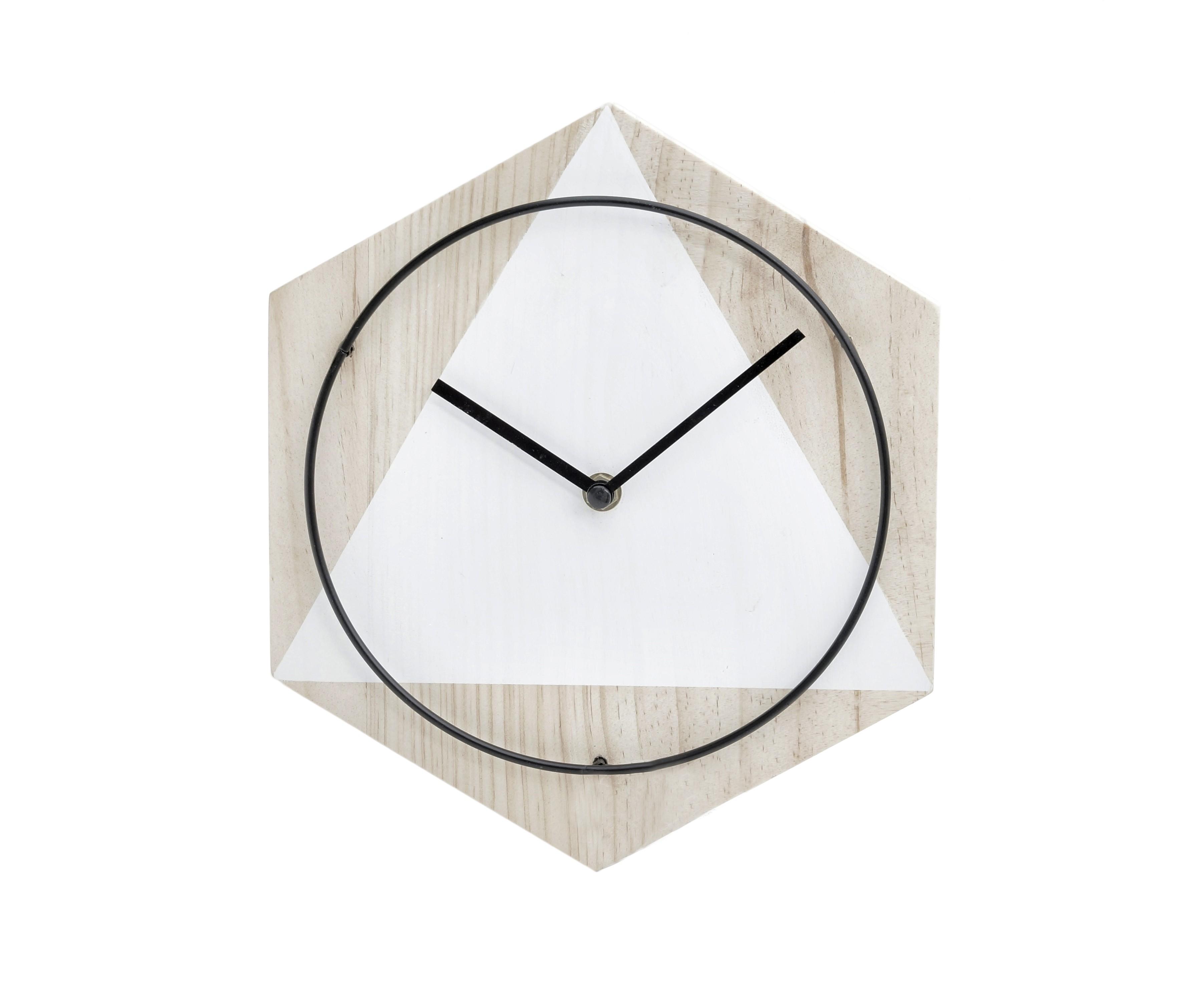 Часы настенные SundoНастенные часы<br>кварцевый механизм<br><br>Material: Дерево<br>Width см: 27<br>Depth см: 4<br>Height см: 23