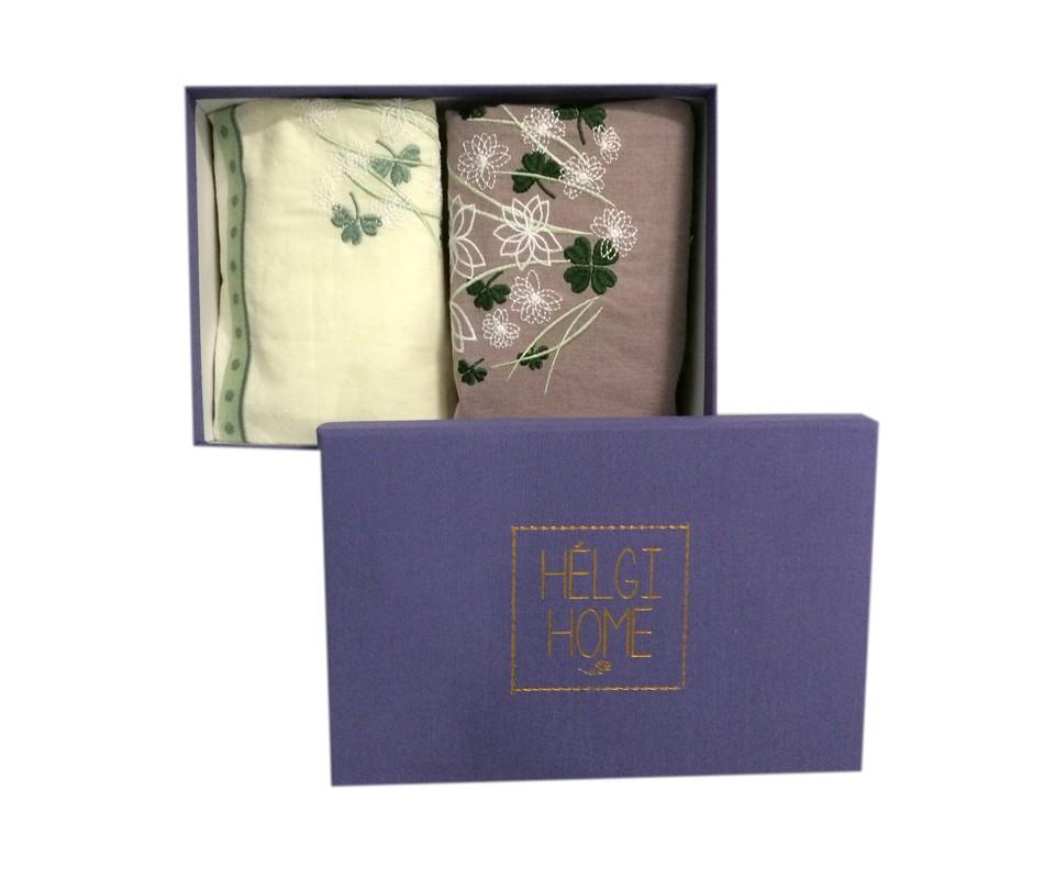 Набор полотенец Франск хав, полевые цветыКомплекты полотенец<br>Набор кухонных полотенец «Франск Хав» зелёный. <br>  Кухонные полотенца «Франск Хав» выполнены из качественного хлопка на 50% и натурального льна на 50%. Одно из полотенец имеет зеленый цвет, второе в центральной части – в бело-зеленую клетку, каждое из полотенец имеет вышишивку с изображением полевых цветов.  Еще одним украшением является ажурное кружево, идущее по краю полотенца. Полотенца «Франск Хав» - это не просто полезная принадлежность, но и красивый декор для эффектного оформления кухни.&amp;amp;nbsp;&amp;lt;div&amp;gt;&amp;lt;br&amp;gt;&amp;lt;/div&amp;gt;&amp;lt;div&amp;gt;В набор входят два полотенца размером 30х60. &amp;lt;/div&amp;gt;<br><br>Material: Хлопок<br>Length см: None<br>Width см: 16.5<br>Depth см: 25<br>Height см: 8
