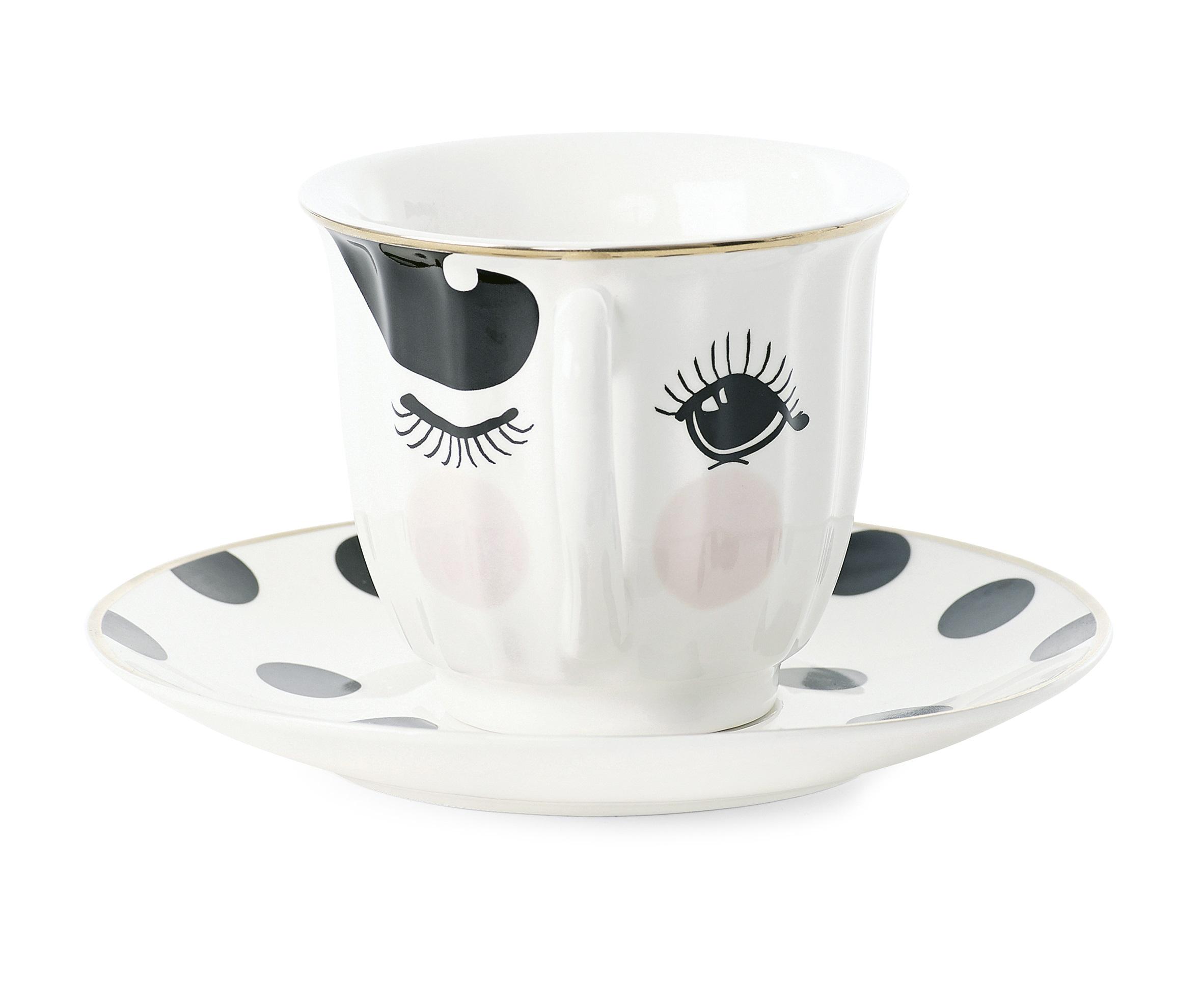 Кофейная параЧайные пары, чашки и кружки<br>Кофейная пара Miss Etoile – изысканный и желанный подарок для любителей кофе. Как известно, чтобы утро было бодрым и добрым, надо начинать его с крепкого и ароматного напитка. С кофейной парой Miss Etoile утренний ритуал станет не только вкусным, но и приятным. Набор состоит из чашечки и блюдца, они идеально подойдут как для дома, так и для офиса.&amp;amp;nbsp;&amp;lt;div&amp;gt;&amp;lt;br&amp;gt;&amp;lt;/div&amp;gt;&amp;lt;div&amp;gt;Объем 150 мл.&amp;lt;/div&amp;gt;<br><br>Material: Керамика<br>Length см: None<br>Width см: None<br>Depth см: None<br>Height см: 9<br>Diameter см: 13.5