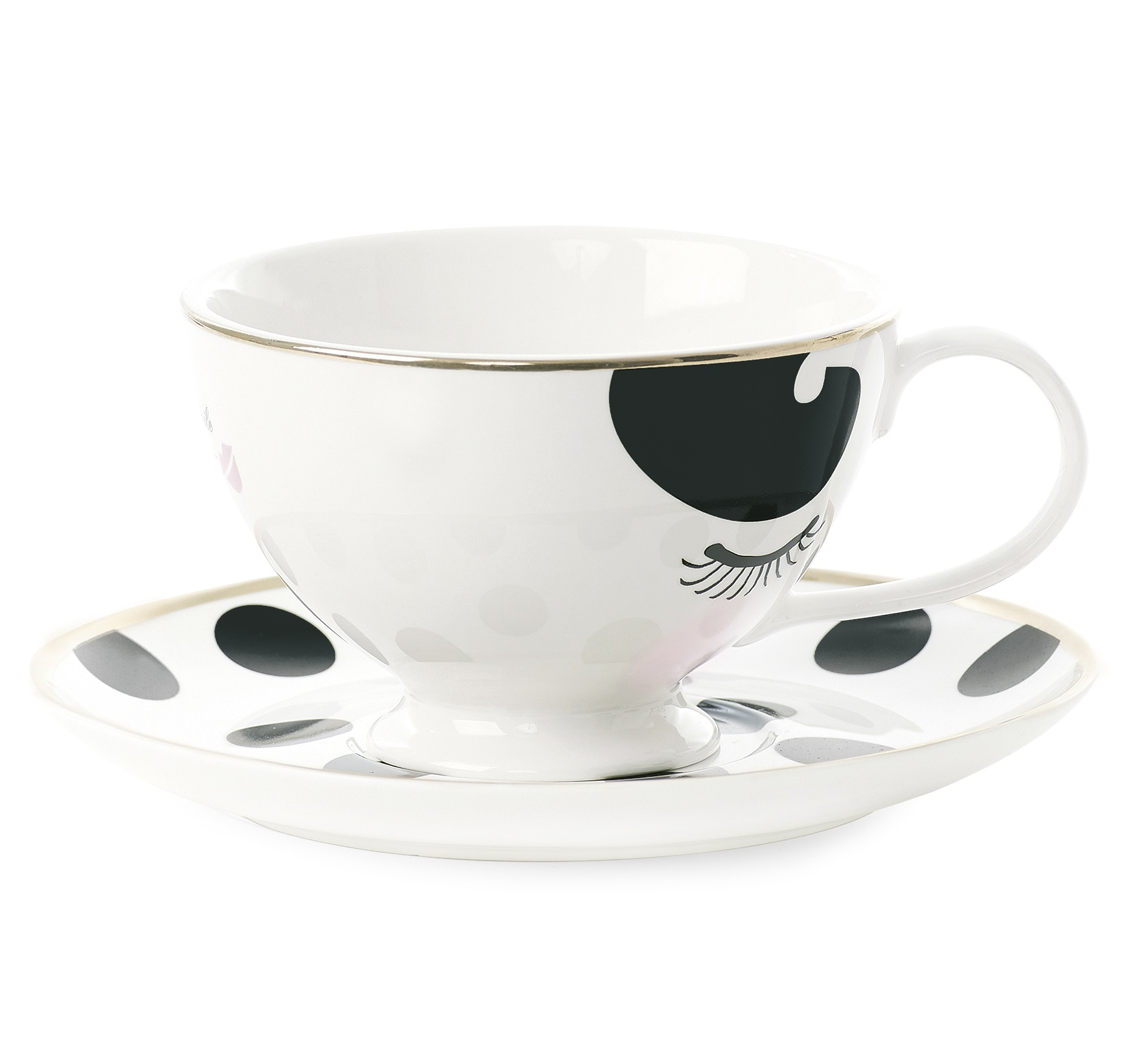 Чайная параЧайные пары, чашки и кружки<br>Чайная пара Miss Etoile – это набор, состоящий из чашки из блюдца. Посуда для чайной церемонии играет важную роль, ведь перерыв на чашку ароматного напитка – это прекрасная возможность отдохнуть, провести время за приятной беседой или просто помечтать и своих желаниях. Этот отдых станет еще приятнее, если чайная пара выполнена в роскошном и изящном дизайне, с особым вниманием к каждой детали. Покупая посуду от Miss Etoile, вы делаете выбор в пользу красоты и гармонии.&amp;amp;nbsp;&amp;lt;div&amp;gt;&amp;lt;br&amp;gt;&amp;lt;/div&amp;gt;&amp;lt;div&amp;gt;Объем 250 мл.&amp;lt;/div&amp;gt;<br><br>Material: Керамика<br>Length см: None<br>Width см: None<br>Depth см: None<br>Height см: 8<br>Diameter см: 17