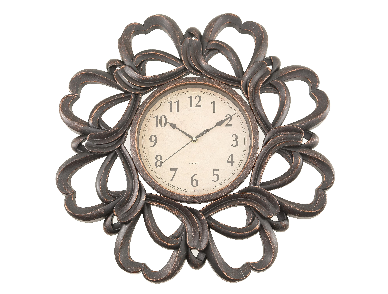 Часы настенные RosarioНастенные часы<br>кварцевый механизм<br><br>Material: Пластик<br>Width см: None<br>Depth см: 5<br>Height см: None<br>Diameter см: 61