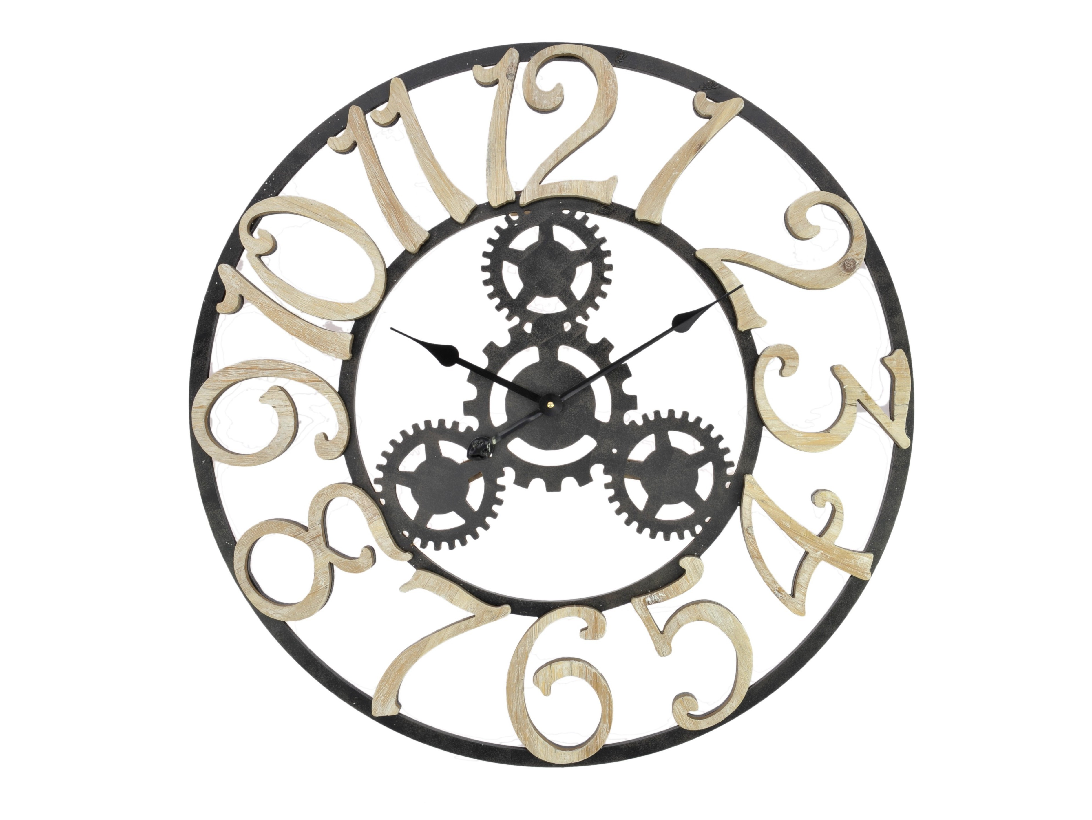Часы настенные TriumphНастенные часы<br>кварцевый механизм<br><br>Material: Дерево<br>Width см: None<br>Depth см: 5<br>Height см: None<br>Diameter см: 75