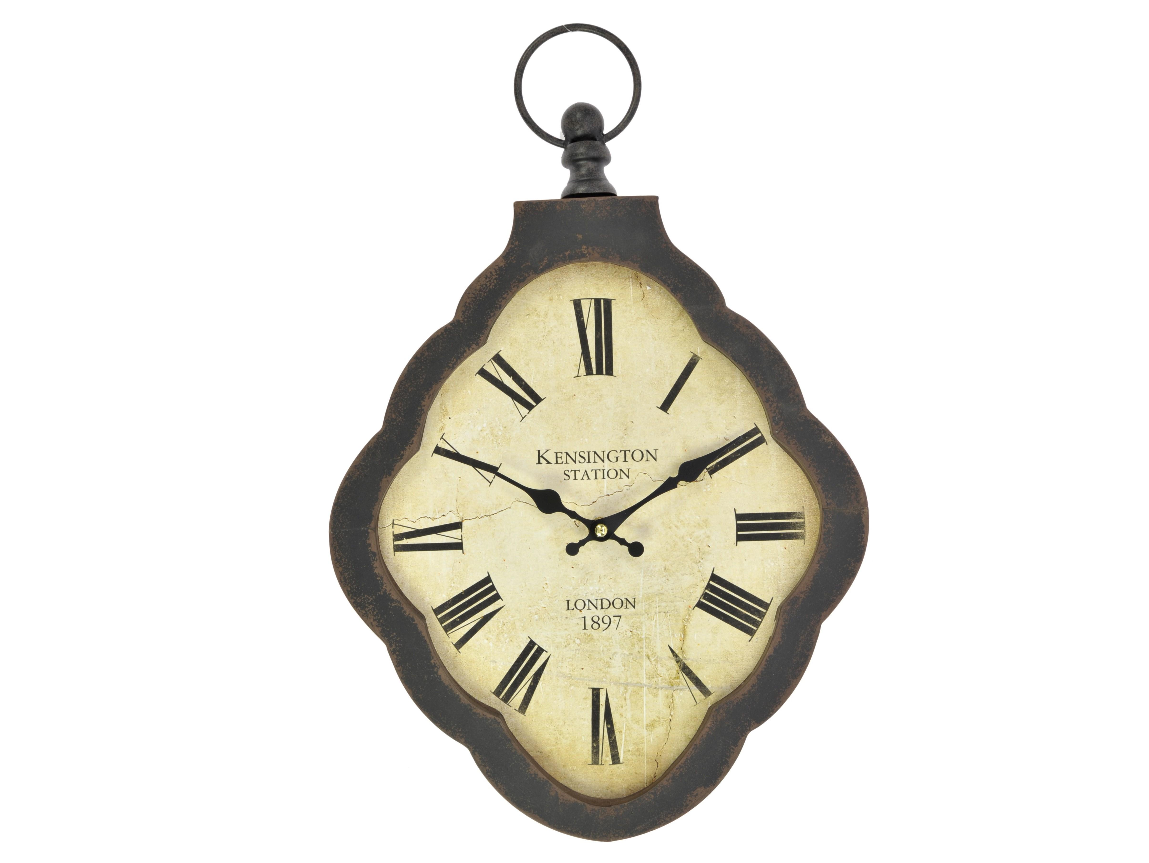 Часы настенные BravoНастенные часы<br>кварцевый механизм<br><br>Material: Металл<br>Width см: 30<br>Depth см: 4<br>Height см: 46