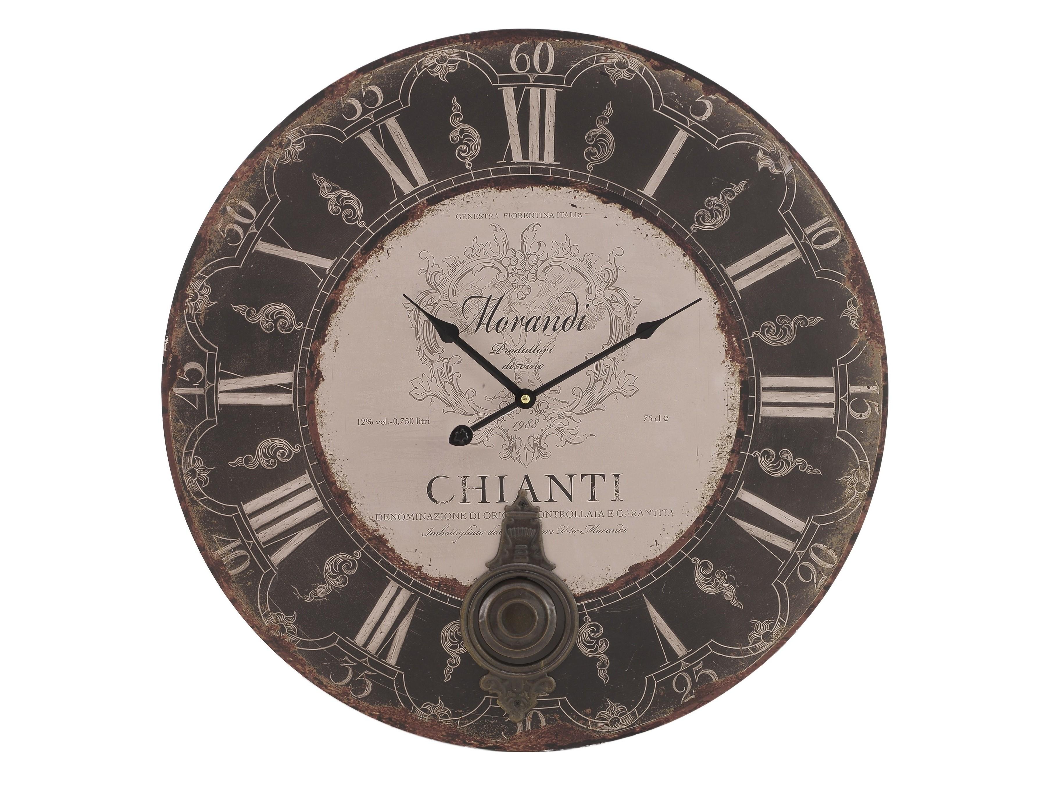 Часы настенные NapoliНастенные часы<br>кварцевый механизм<br><br>Material: Металл<br>Width см: None<br>Depth см: 4<br>Height см: None<br>Diameter см: 58