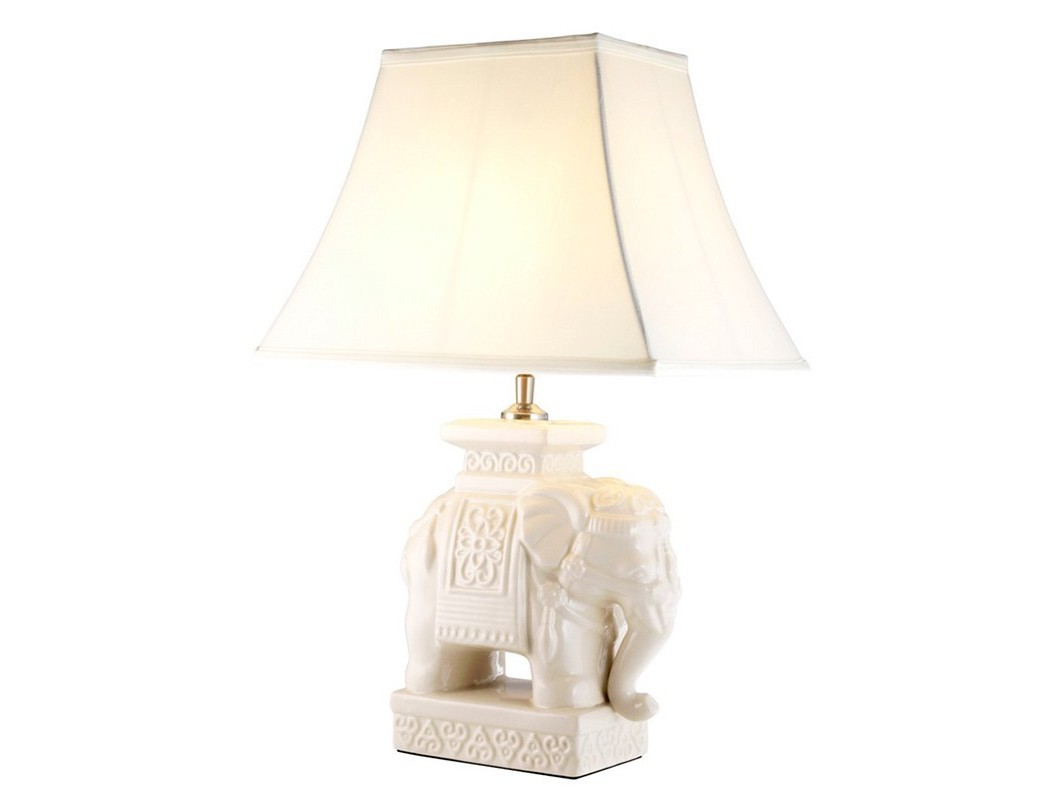Настольная лампа TrinidadДекоративные лампы<br>Настольная лампа Table Lamp Trinidad на основании c оригинальным дизайном из керамики кремового цвета. Текстильный абажур белого цвета скрывает лампу.&amp;lt;div&amp;gt;&amp;lt;br&amp;gt;&amp;lt;/div&amp;gt;&amp;lt;div&amp;gt;&amp;lt;div&amp;gt;Цоколь: E27&amp;lt;/div&amp;gt;&amp;lt;div&amp;gt;Мощность: 60W&amp;lt;/div&amp;gt;&amp;lt;div&amp;gt;Количество ламп: 1&amp;lt;/div&amp;gt;&amp;lt;/div&amp;gt;<br><br>Material: Керамика<br>Ширина см: 38<br>Высота см: 56<br>Глубина см: 38