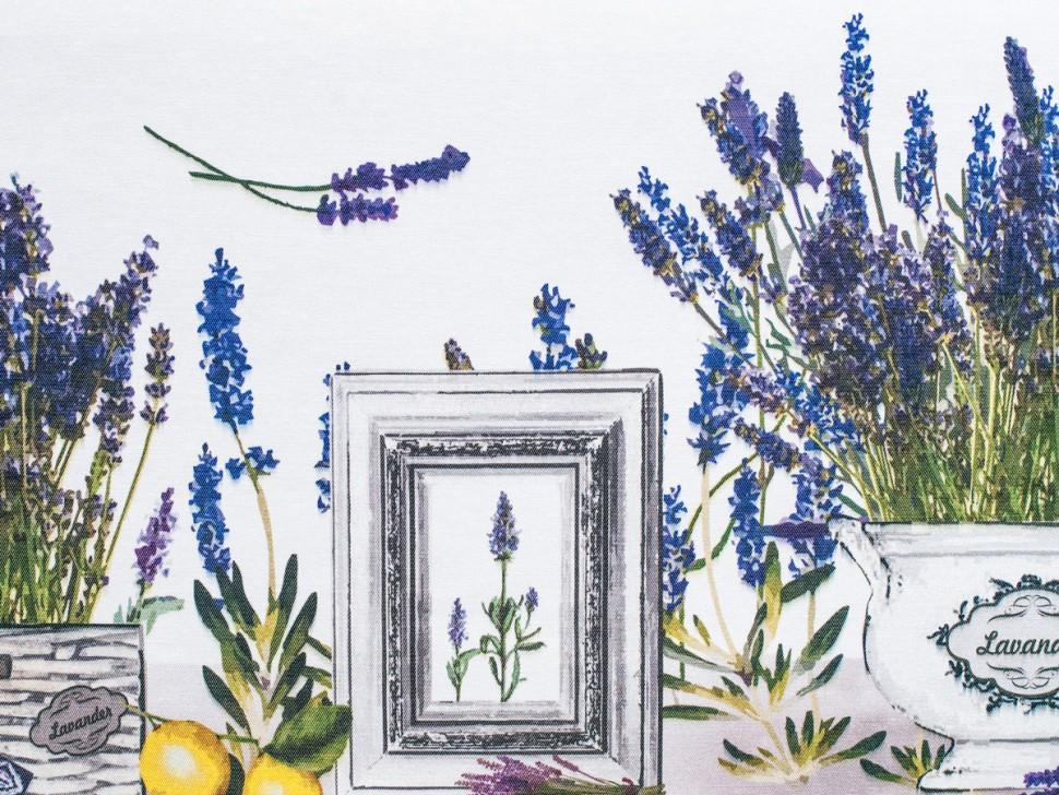Скатерть Lavender Maison Christelle REСкатерти<br>&amp;lt;div&amp;gt;Скатерть Maison Christelle Lavender не только практична, но и является ярким штрихом в интерьере вашей квартиры. Дизайн выполнен в нежных сиренево–голубых оттенках с изображением цветущей лаванды.&amp;lt;/div&amp;gt;&amp;lt;div&amp;gt;Изделия серии Maison Christelle созданы по инновационной технологии, благодаря которой к ним не пристают пятна и всевозможные загрязнения, а также не остаётся разводов. Скатерть обработана специальным водоотталкивающим составом, за счёт которого вода не впитывается и легко соскальзывает с поверхности.&amp;lt;/div&amp;gt;&amp;lt;div&amp;gt;&amp;lt;br&amp;gt;&amp;lt;/div&amp;gt;&amp;lt;div&amp;gt;- элегантный дизайн;&amp;amp;nbsp;&amp;lt;/div&amp;gt;&amp;lt;div&amp;gt;- несомненное украшение стола любого торжества;&amp;amp;nbsp;&amp;lt;/div&amp;gt;&amp;lt;div&amp;gt;- поверхность пропитана водоотталкивающим составом;&amp;amp;nbsp;&amp;lt;/div&amp;gt;&amp;lt;div&amp;gt;- не мнётся и не требует глажки;&amp;amp;nbsp;&amp;lt;/div&amp;gt;&amp;lt;div&amp;gt;- при стирке сохраняет яркость красок.&amp;lt;/div&amp;gt;&amp;lt;div&amp;gt;&amp;lt;br&amp;gt;&amp;lt;/div&amp;gt;&amp;lt;div&amp;gt;Вес: 775 гр&amp;lt;/div&amp;gt;&amp;lt;div&amp;gt;Размеры упаковки: 33x 27x3 см&amp;lt;/div&amp;gt;&amp;lt;div&amp;gt;Коллекция: Maison Christelle Lavender&amp;lt;/div&amp;gt;&amp;lt;div&amp;gt;Размер: 220х140 см&amp;lt;/div&amp;gt;&amp;lt;div&amp;gt;Материал: поликоттон (50% хлопок, 50% полиэстер)&amp;lt;/div&amp;gt;&amp;lt;div&amp;gt;Форма: прямоугольная&amp;lt;/div&amp;gt;&amp;lt;div&amp;gt;Описание: Поликоттон износоустойчив, долговечен и прочен, при этом практически не мнётся и не требует глажки. При стирке скатерть не деформируется и сохраняет первоначальную яркость цвета.&amp;lt;/div&amp;gt;&amp;lt;div&amp;gt;&amp;lt;br&amp;gt;&amp;lt;/div&amp;gt;<br><br>Material: Хлопок<br>Ширина см: 220<br>Глубина см: 140