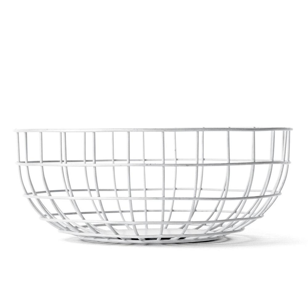Ваза norm wire bowlЧаши<br>Ваза предназначена для фруктов, но область её применения ограничена только вашей фантазией – можете хранить в ней яблоки и апельсины, а можете положить в неё журналы или, например, клубки шерсти для вязания.<br><br>Material: Сталь<br>Height см: 10<br>Diameter см: 25