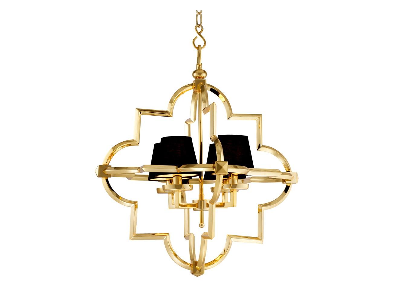 Подвесной светильник MandevilleПодвесные светильники<br>Подвесной светильник 4-х рожковый из коллекции Chandelier Mandeville S на металлической арматуре золотого цвета. Тканевые абажуры черного цвета скрывают лампы. Высота светильника регулируется за счет звеньев цепи.&amp;lt;div&amp;gt;&amp;lt;br&amp;gt;&amp;lt;/div&amp;gt;&amp;lt;div&amp;gt;&amp;lt;div&amp;gt;Вид цоколя: E14&amp;lt;/div&amp;gt;&amp;lt;div&amp;gt;Мощность лампы: 40W&amp;lt;/div&amp;gt;&amp;lt;div&amp;gt;Количество ламп: 4&amp;lt;/div&amp;gt;&amp;lt;/div&amp;gt;&amp;lt;div&amp;gt;&amp;lt;br&amp;gt;&amp;lt;/div&amp;gt;&amp;lt;div&amp;gt;Лампочки в комплект не входят.&amp;lt;/div&amp;gt;<br><br>Material: Металл<br>Ширина см: 67.0<br>Высота см: 82.0<br>Глубина см: 67.0