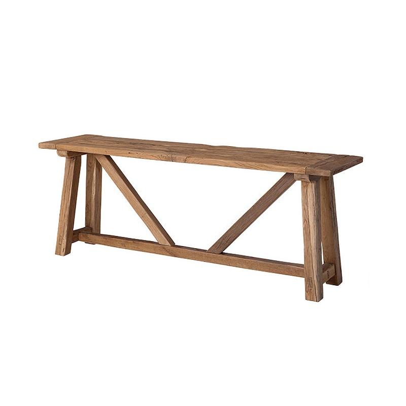 СкамьяСкамейки<br>Деревянная скамья Privilege из дуба обработана вручную. Цвет: светло-коричневый. По своей природе, деревянные доски могут быть неравномерным, могут присутствовать трещины. Таким образом каждый элемент является уникальным.<br><br>Material: Дерево<br>Width см: 200<br>Depth см: 50<br>Height см: 75