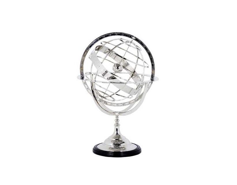 ГлобусДругое<br>Globe Small - глобус. Цвет металла - никель.<br><br>Material: Металл<br>Width см: 16<br>Depth см: 50<br>Height см: 29