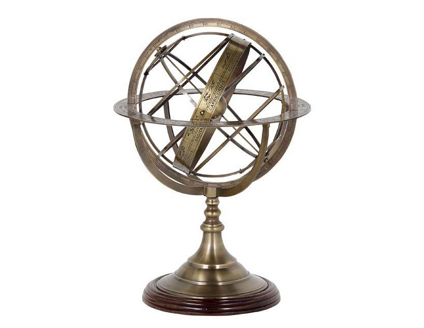 ГлобусДругое<br>Globe Large - глобус. Цвет металла - состаренная латунь.<br><br>Material: Металл<br>Height см: 52<br>Diameter см: 32