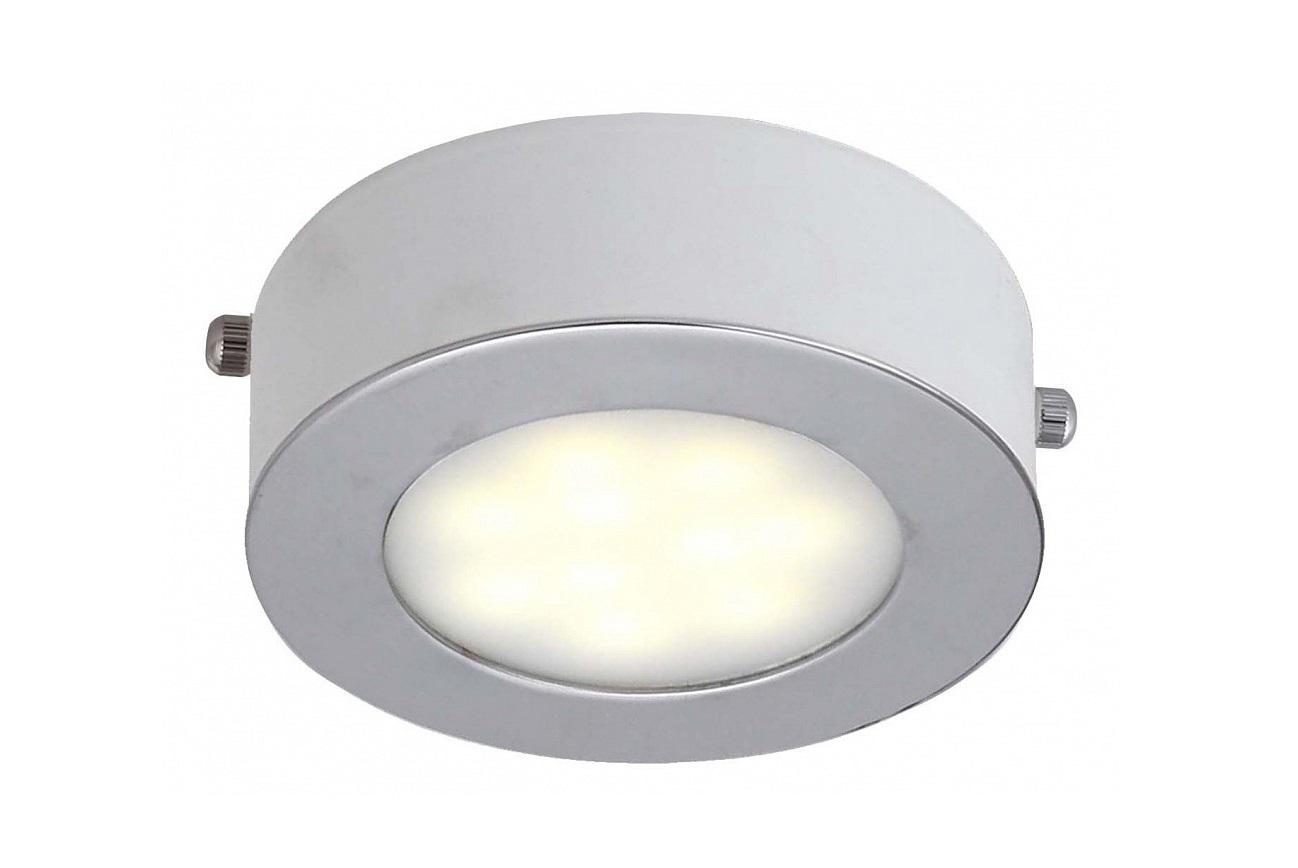Накладной светильник Lustige 1726-1CТочечный свет<br>&amp;lt;div&amp;gt;Цоколь: LED&amp;lt;/div&amp;gt;&amp;lt;div&amp;gt;Мощность: 5W&amp;lt;/div&amp;gt;&amp;lt;div&amp;gt;Количество ламп: 1&amp;lt;/div&amp;gt;<br><br>Material: Металл