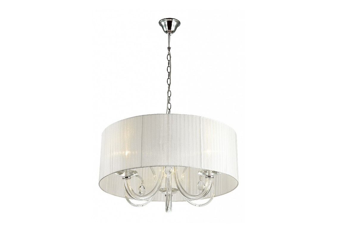 Подвесной светильник SnowПодвесные светильники<br>Материал плафонов и подвесок - органза, хрусталь.&amp;lt;div&amp;gt;&amp;lt;br&amp;gt;&amp;lt;/div&amp;gt;&amp;lt;div&amp;gt;&amp;lt;div&amp;gt;Цоколь: E14&amp;lt;/div&amp;gt;&amp;lt;div&amp;gt;Мощность: 40W&amp;lt;/div&amp;gt;&amp;lt;div&amp;gt;Количество ламп: 3&amp;lt;/div&amp;gt;&amp;lt;/div&amp;gt;<br><br>Material: Хрусталь<br>Height см: 55<br>Diameter см: 55